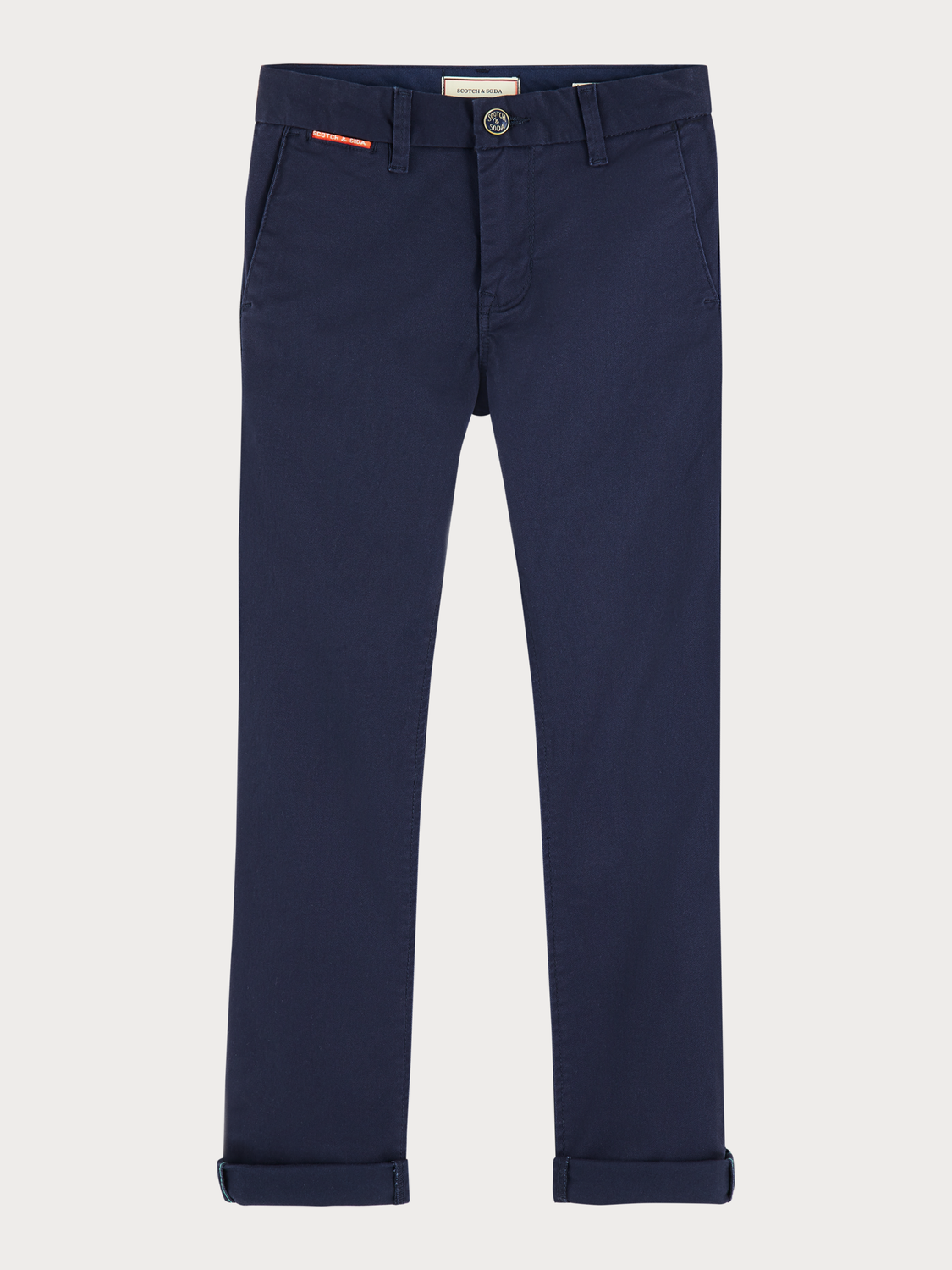 Boys Stretch cotton chinos | Slim fit