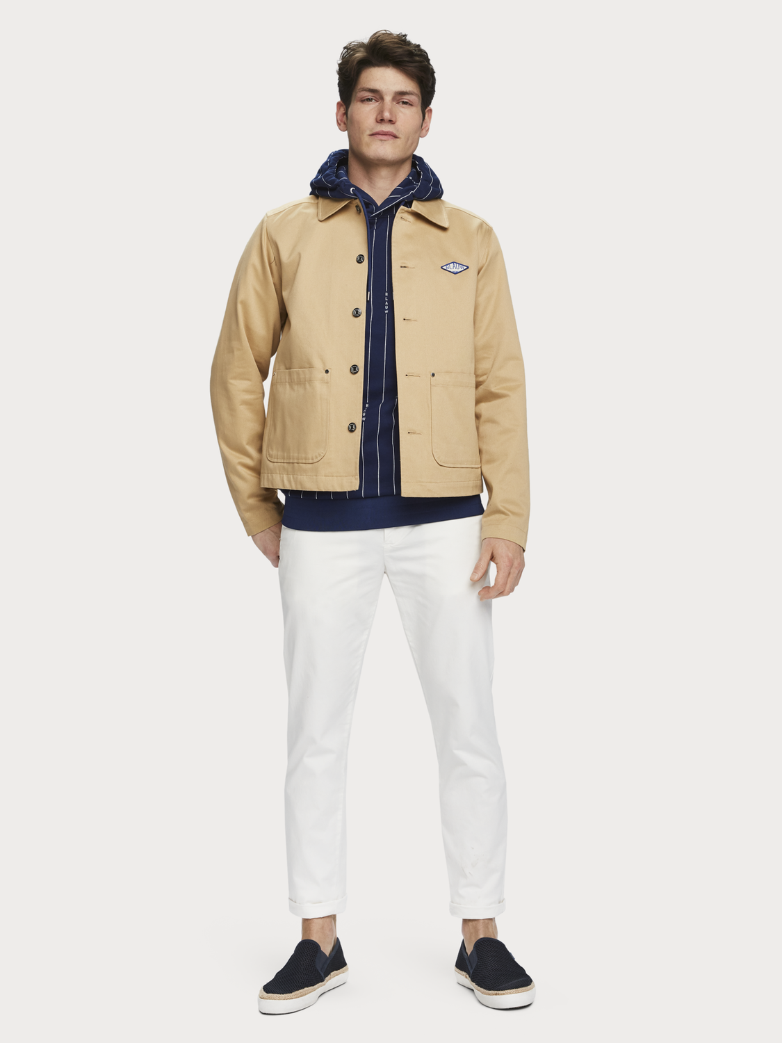 Men Twill Workwear Jacket