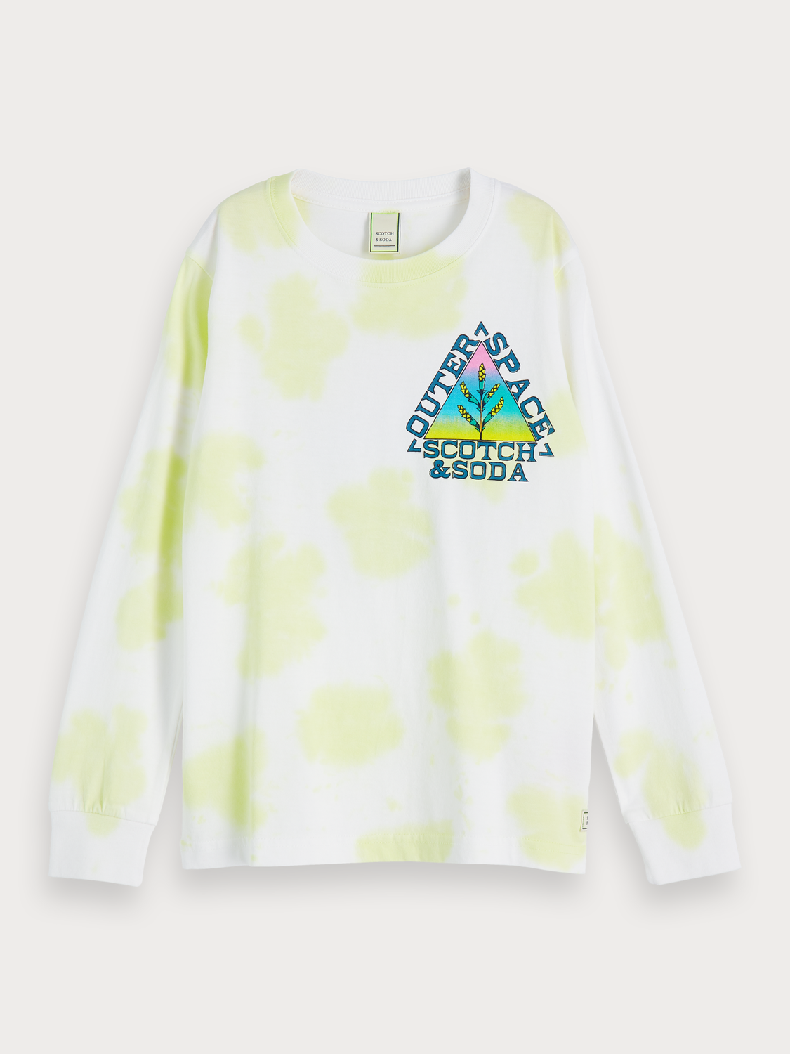 Boys Tie dye artwork t-shirt