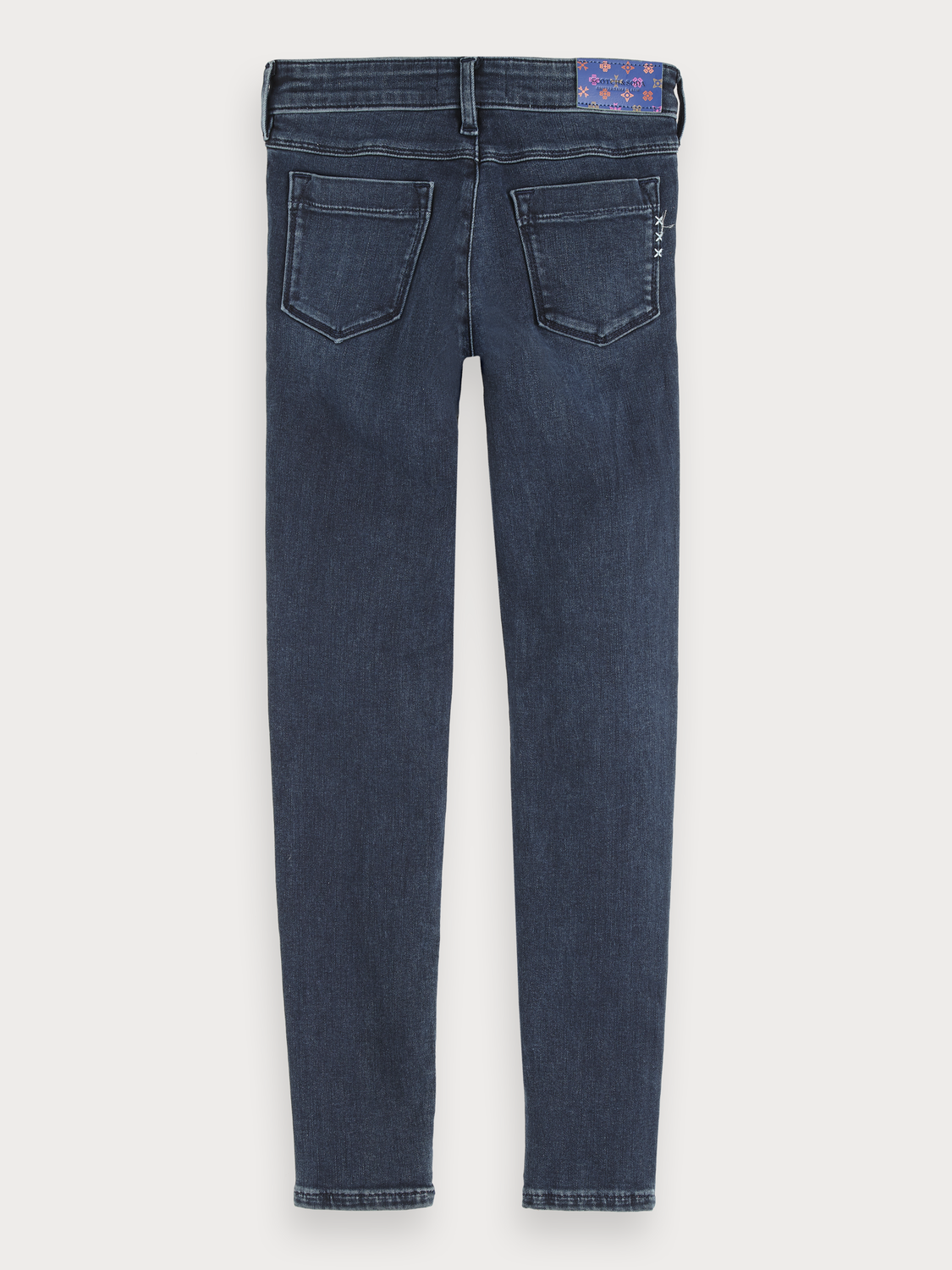 Girls La Milou - Midnight Sky Light | Mid rise skinny fit