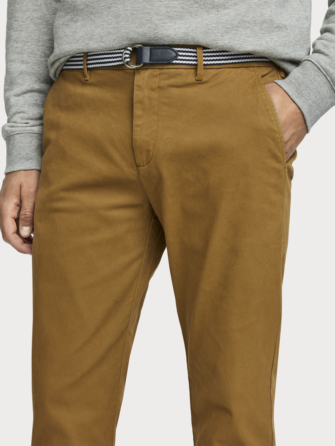 Men Stuart -  Stretch Chinos | Regular slim fit