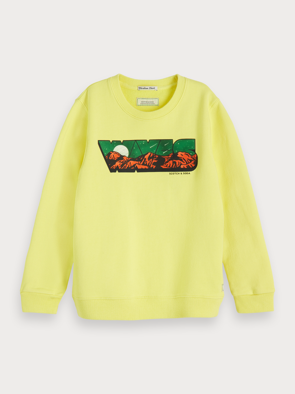 Boys Crew Neck Artwork Sweater