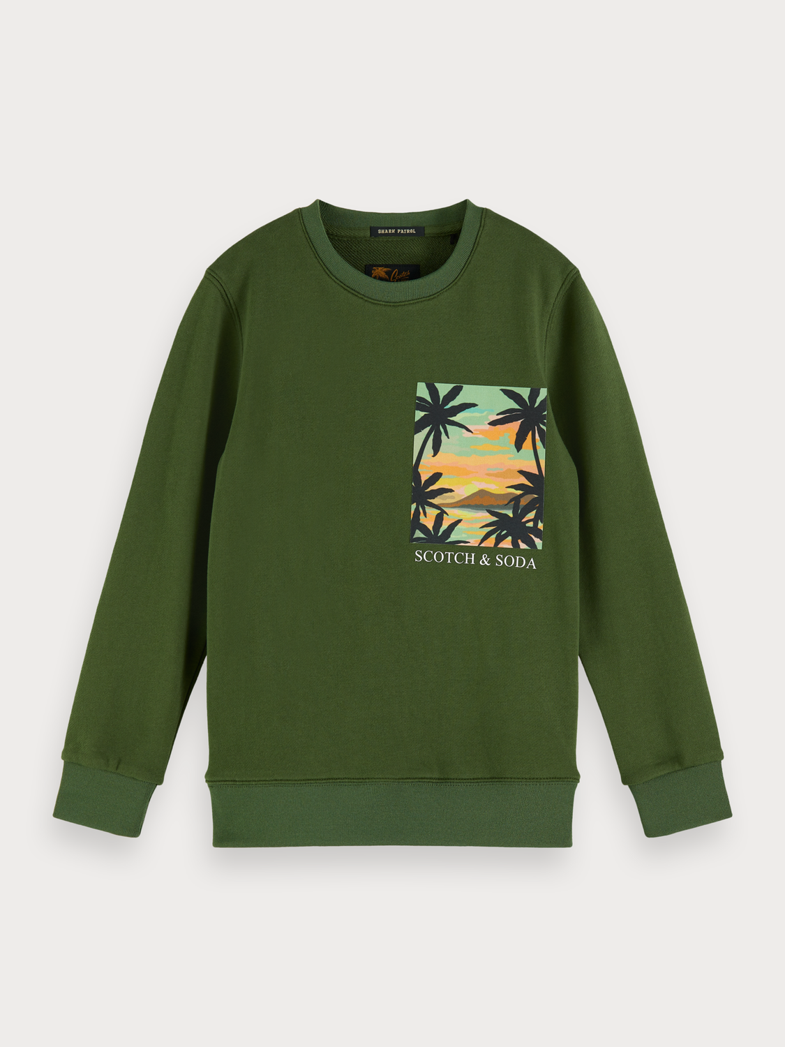 Boys Hawaii Postcard Sweater