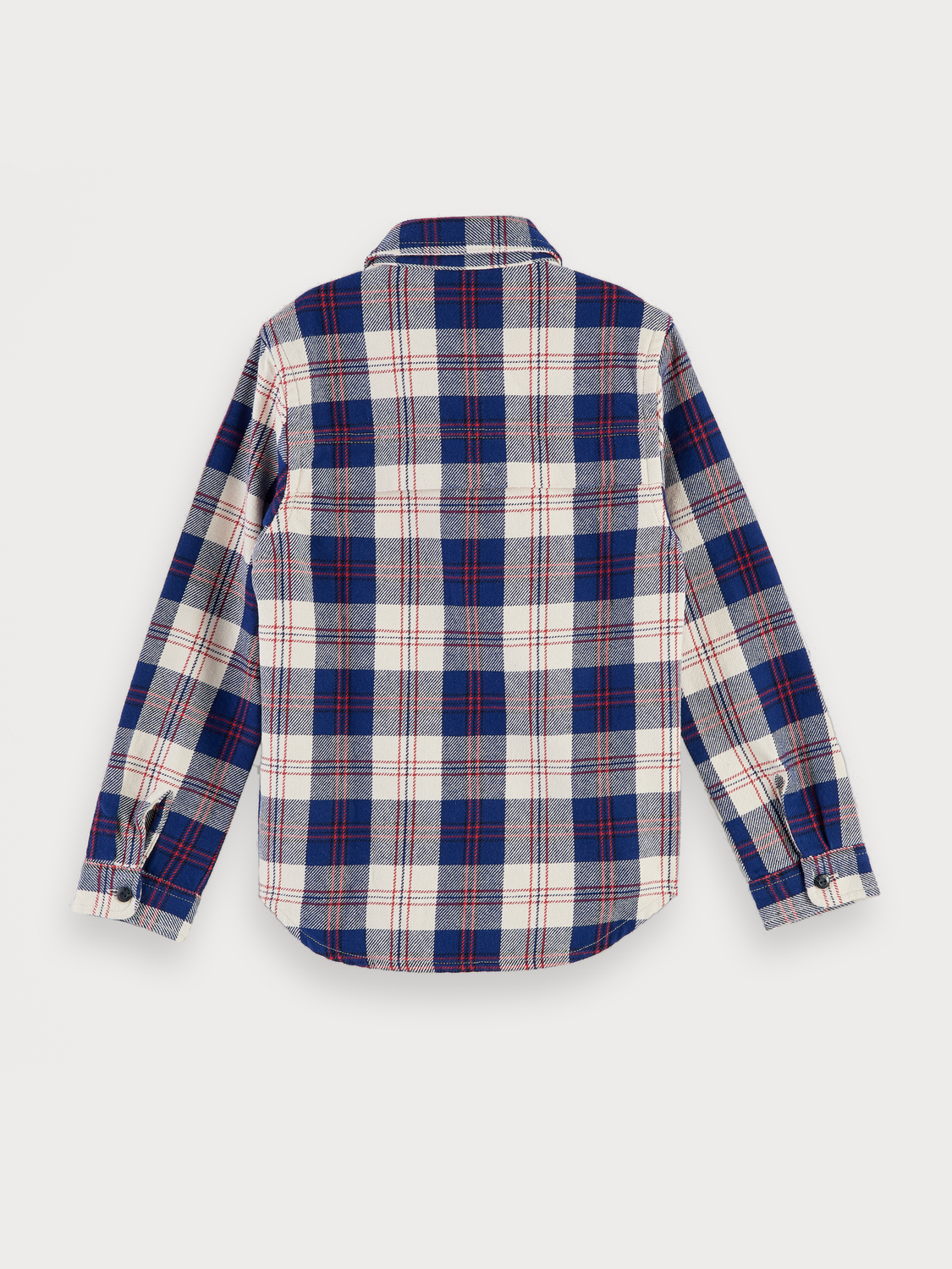 Boys Checked Flannel Shirt | Regular fit
