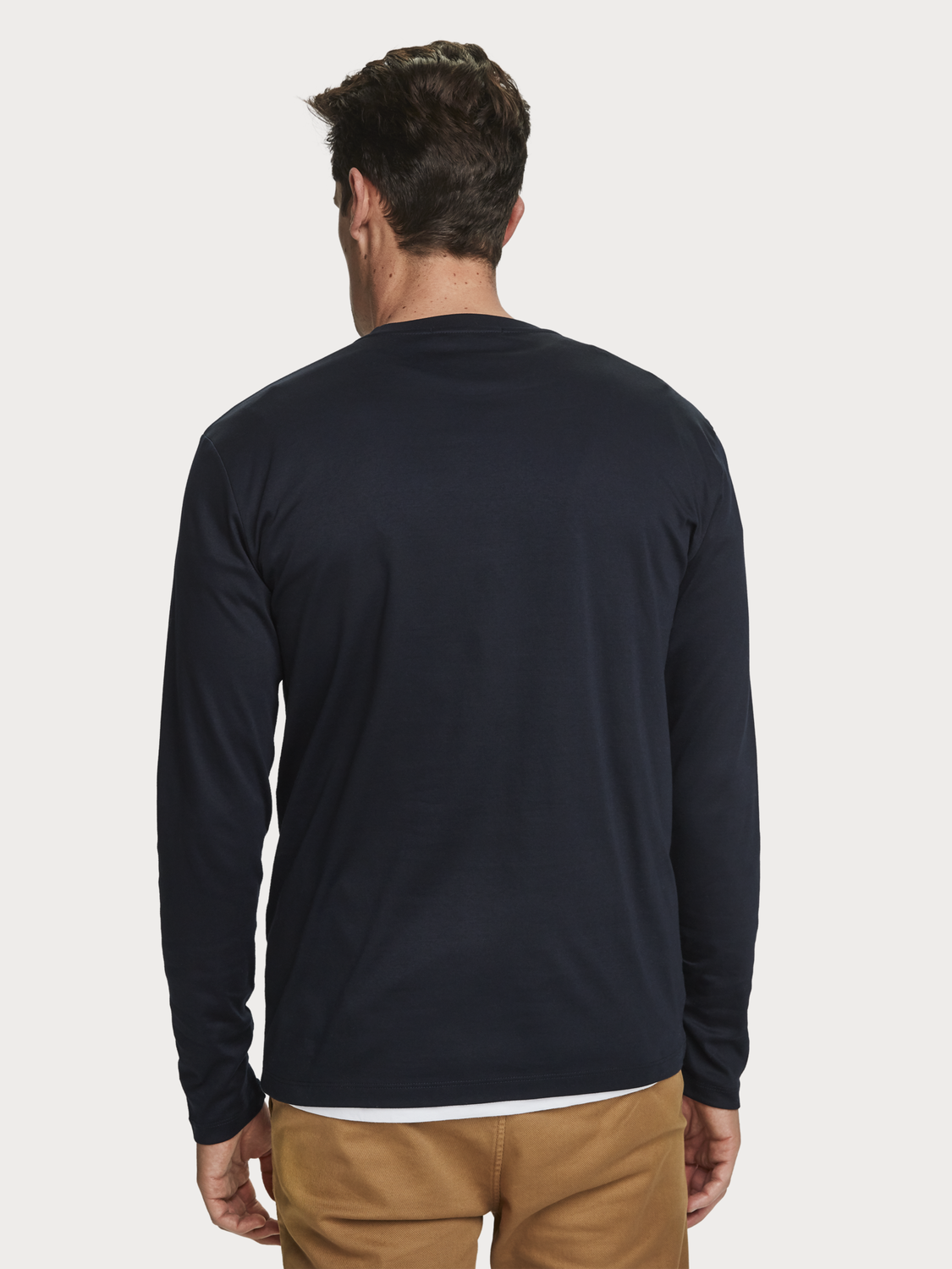 Men Long Sleeved Jersey T-Shirt