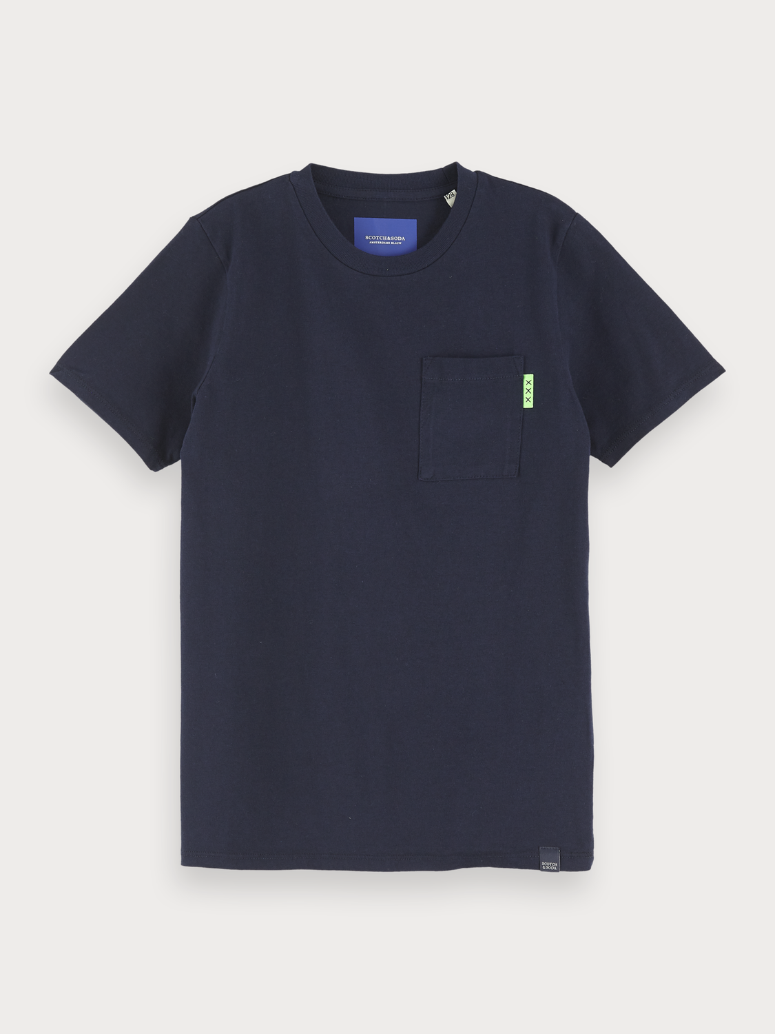 Boys Chest Pocket T-Shirt
