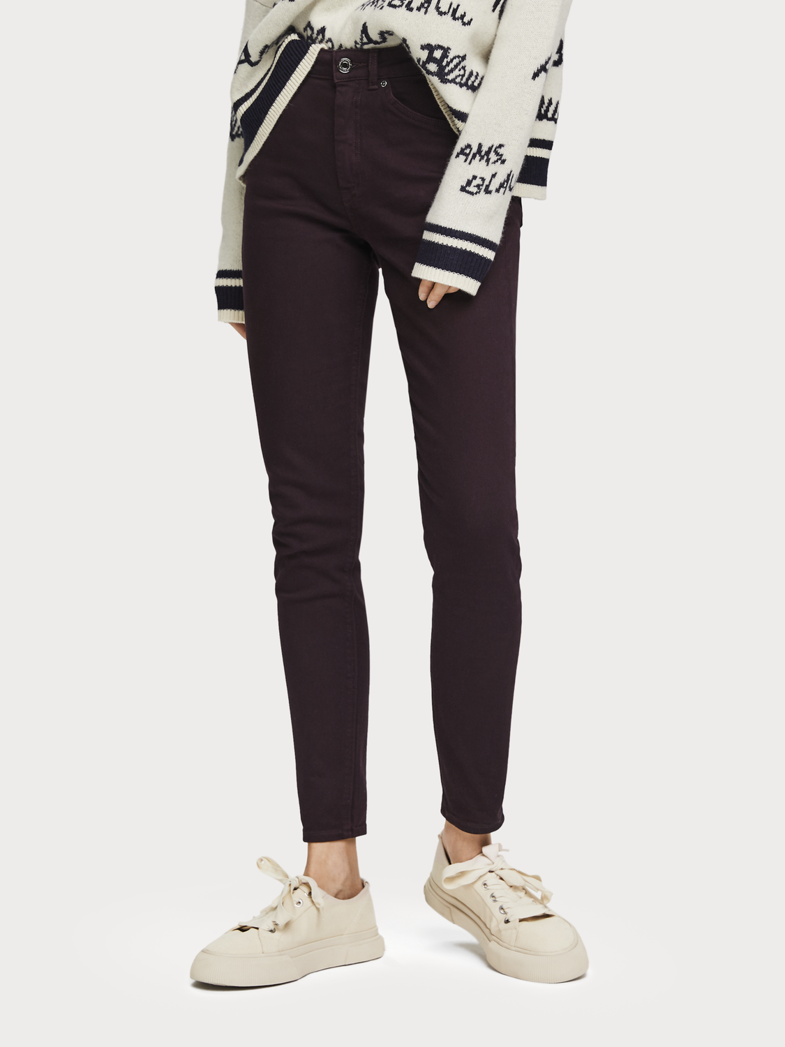 Damer Haut - Garment Dyed Jeans | High rise skinny fit
