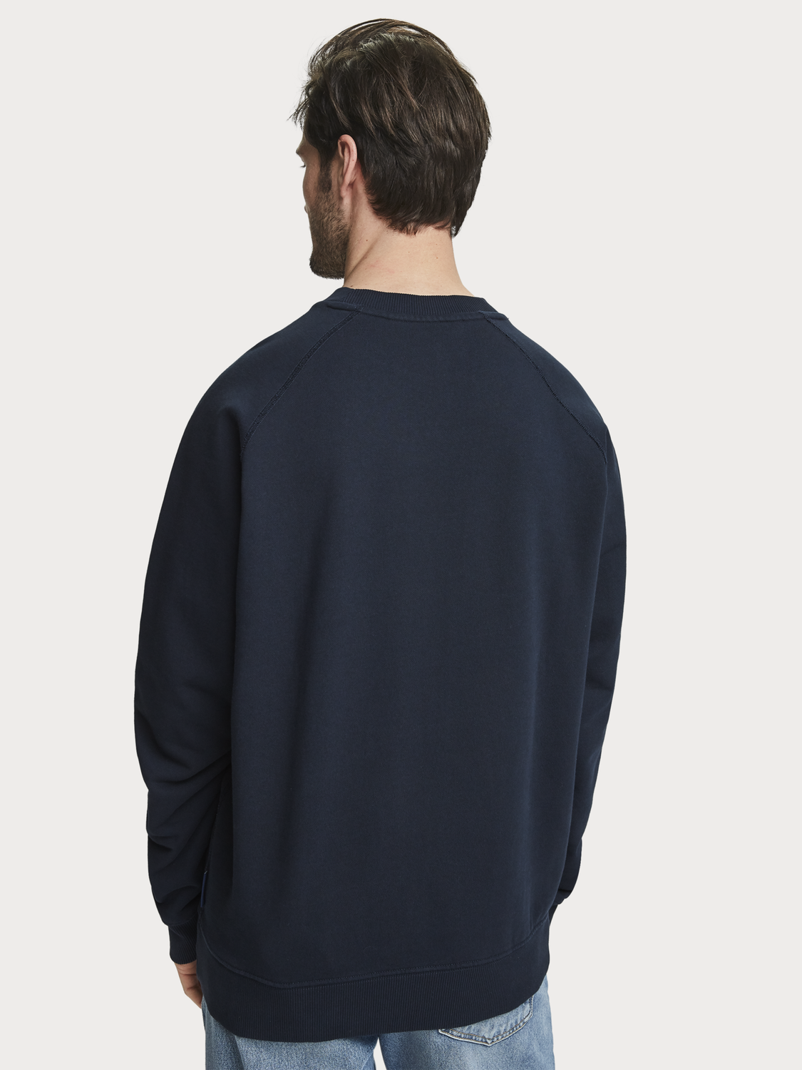 Men Basic crew neck sweater