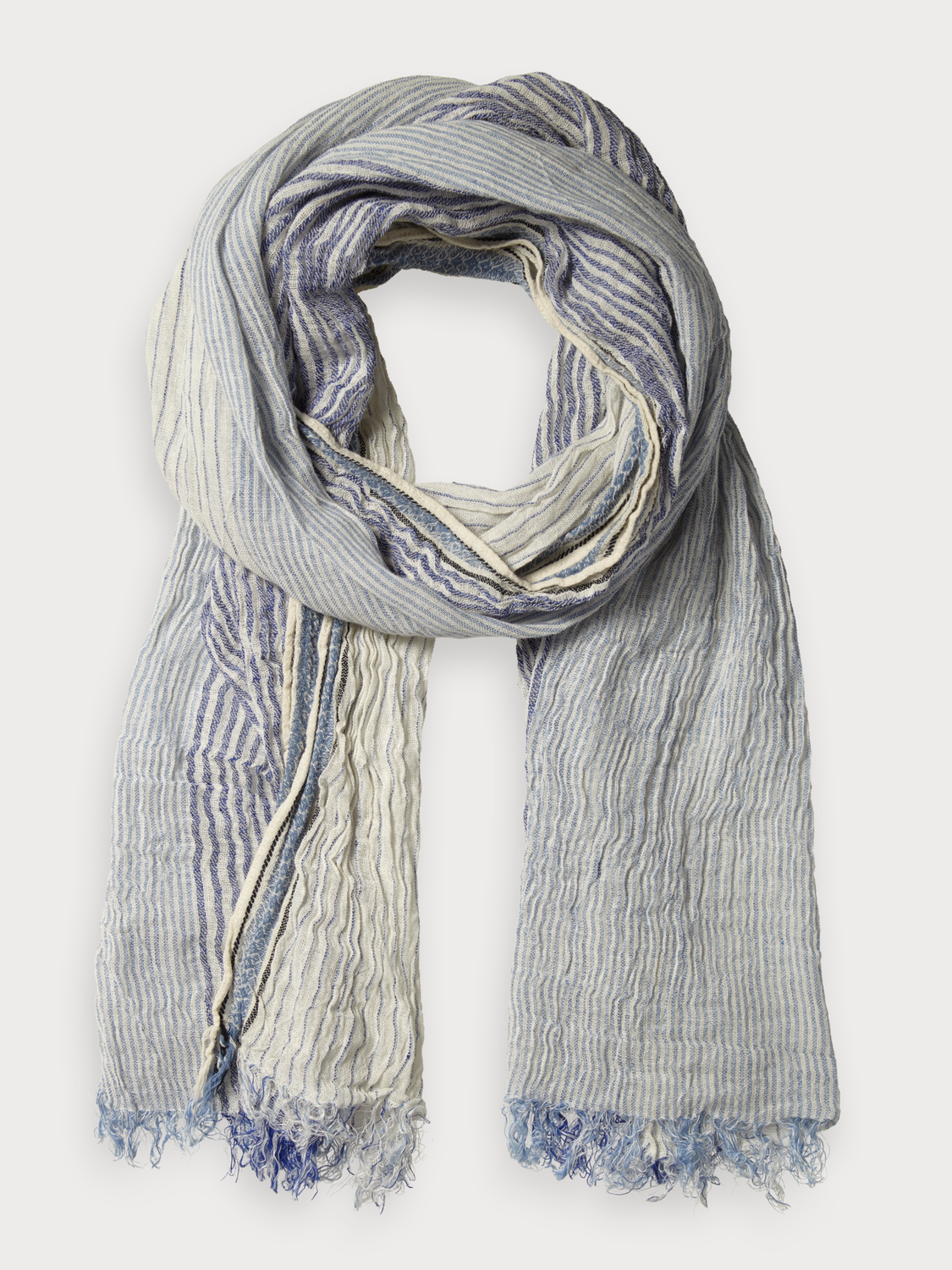 Men Cotton-Linen Scarf