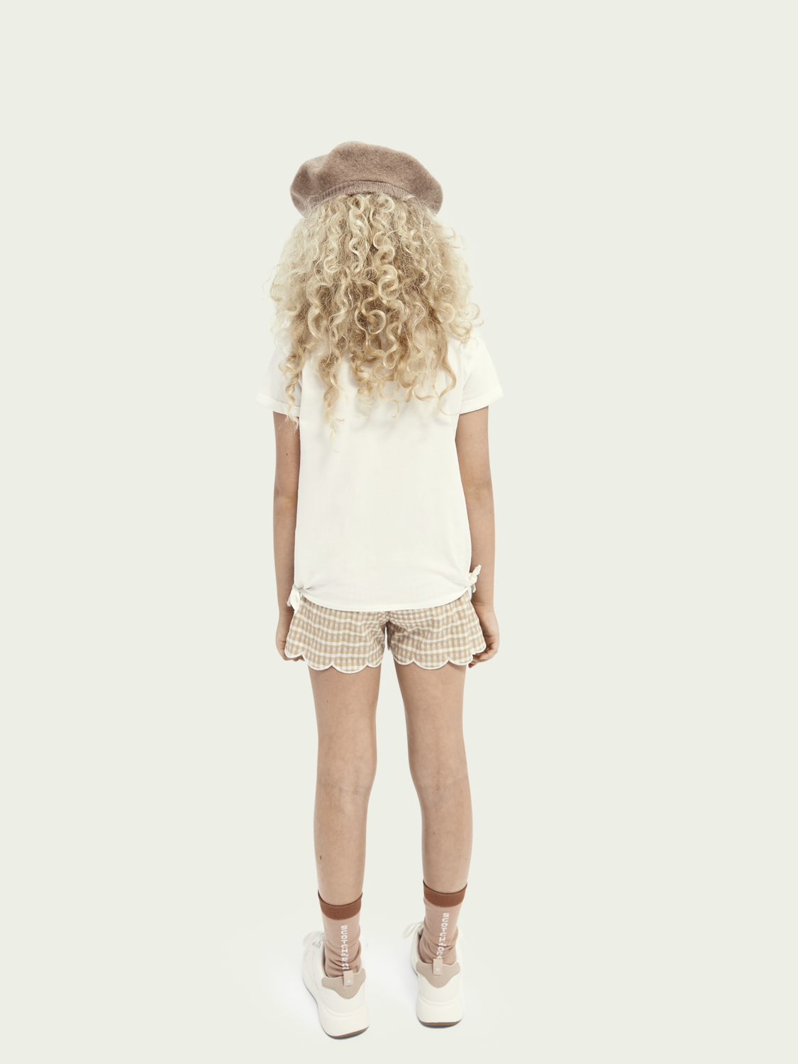 Kids T-shirt with knot detail
