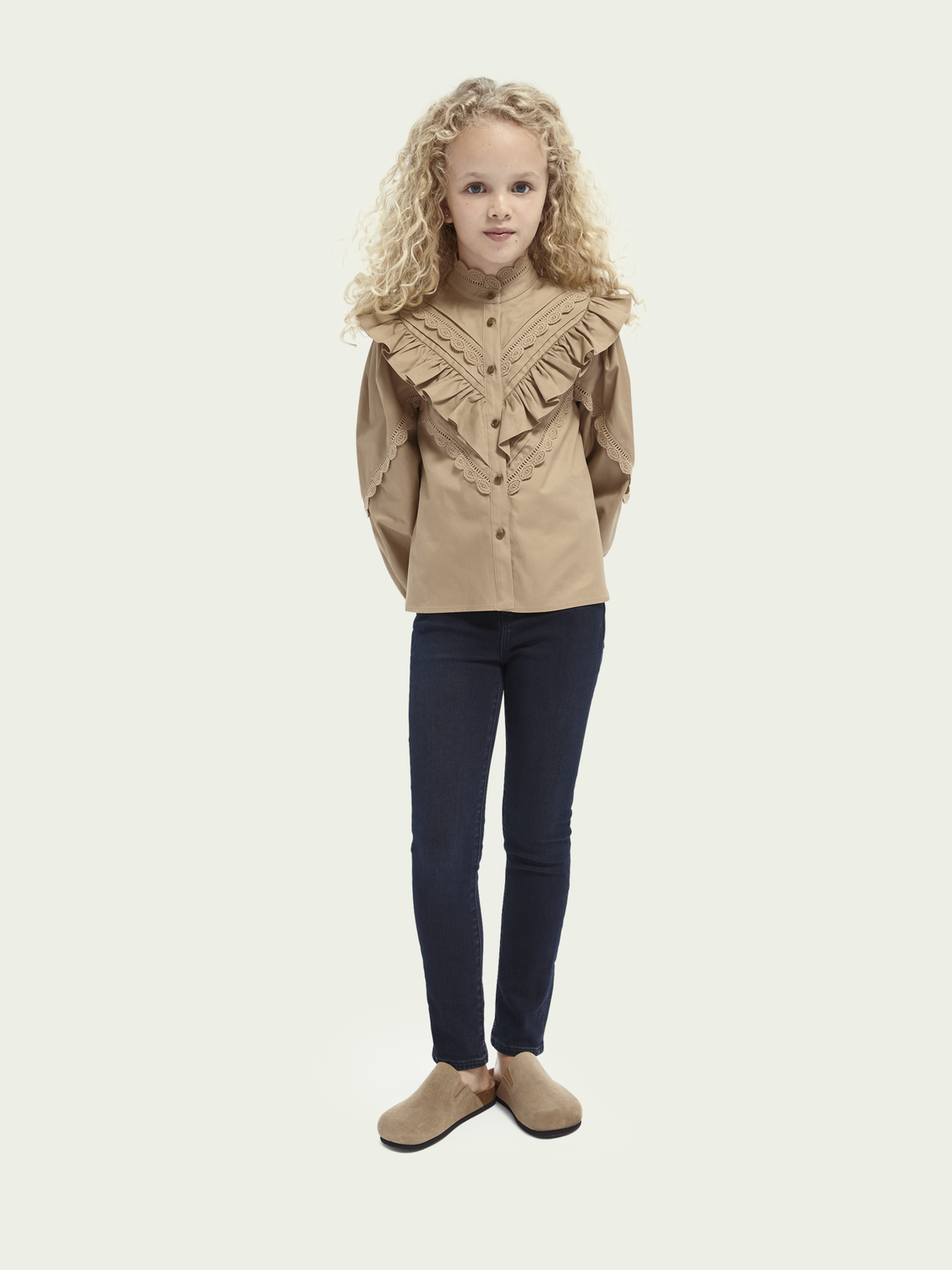 Kids La Charmante high-rise skinny-fit jeans - Tall Tale
