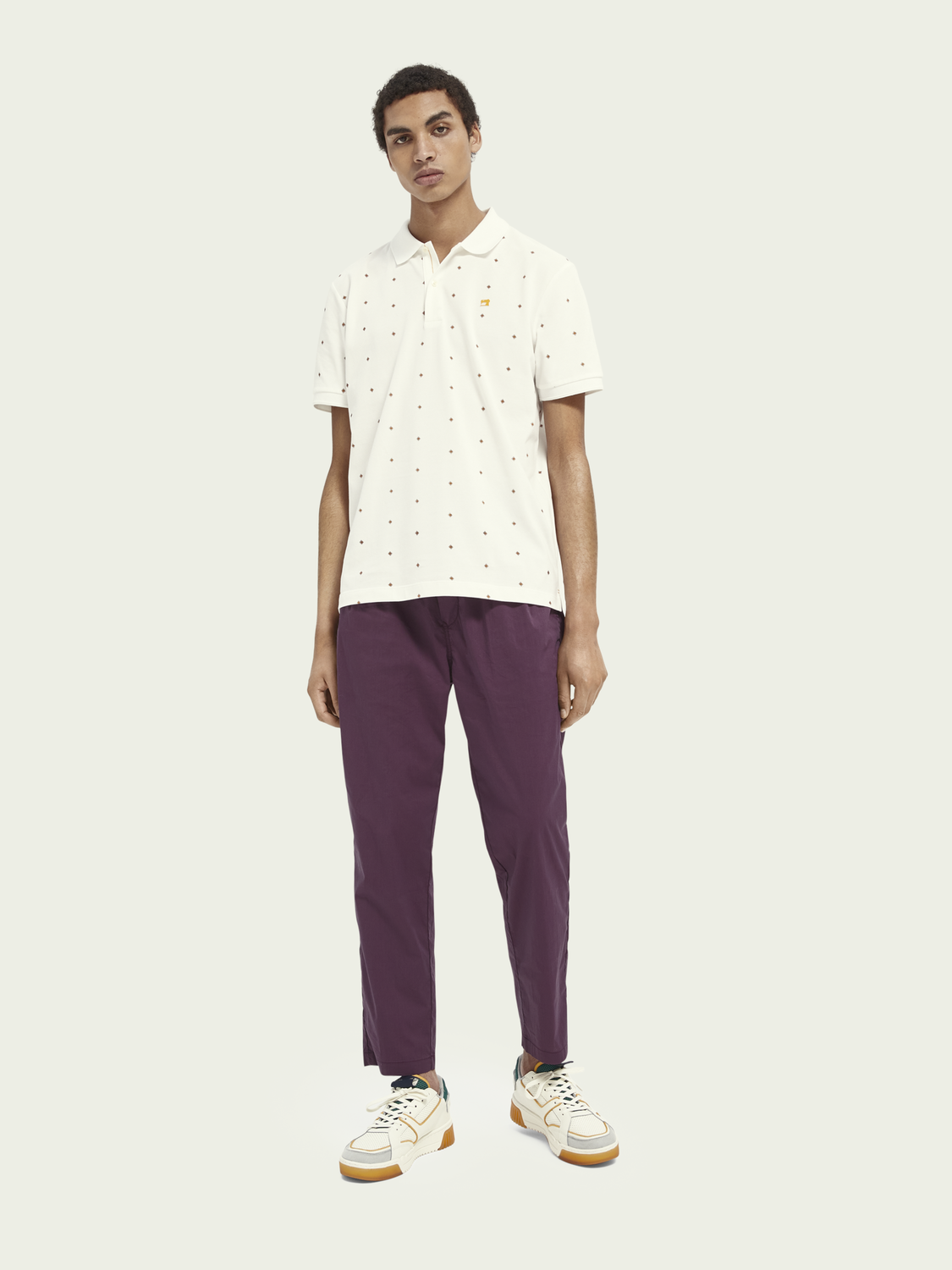 Men Relaxed-fit chino
