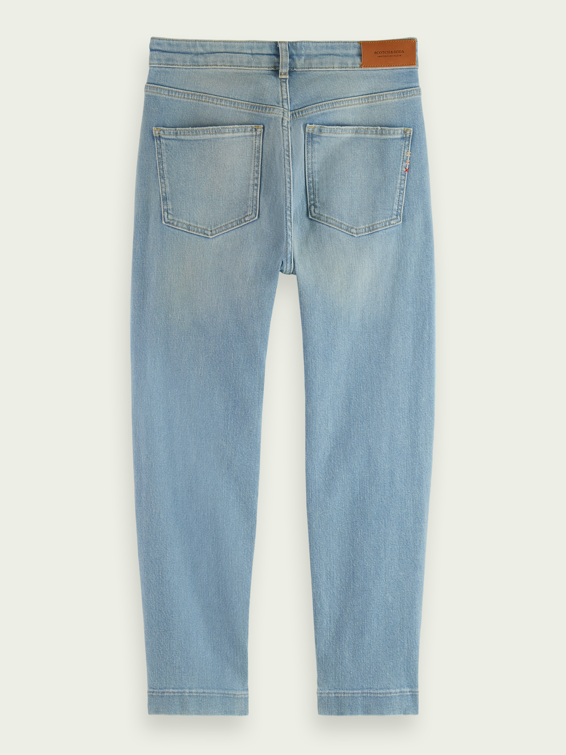 Dames The Keeper mid rise cropped jeans met smalle pijpen – Fresh Light