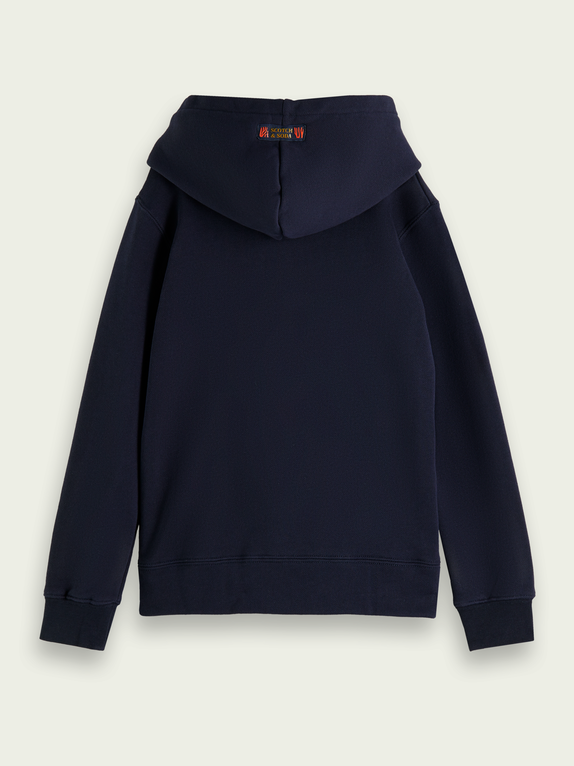 Kids Embroidered organic cotton hoodie