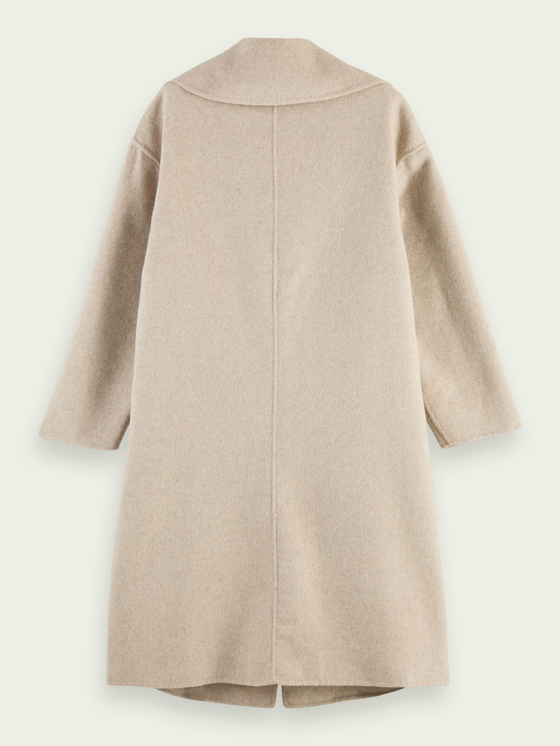 Women Unlined wool-blend coat