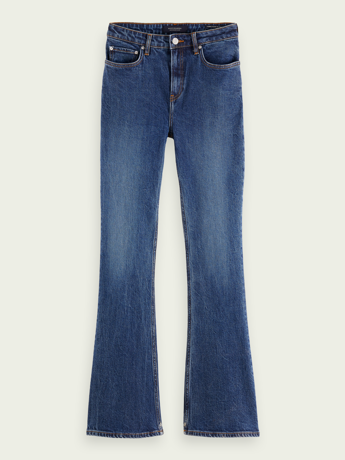 Women The Charm high-rise flared jeans - Take Me Out