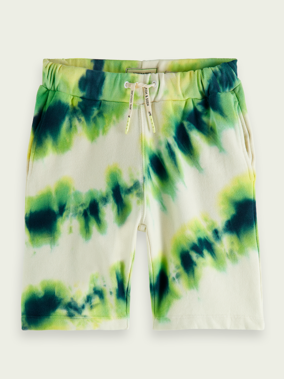Kids Tie-dye organic cotton sweatshorts