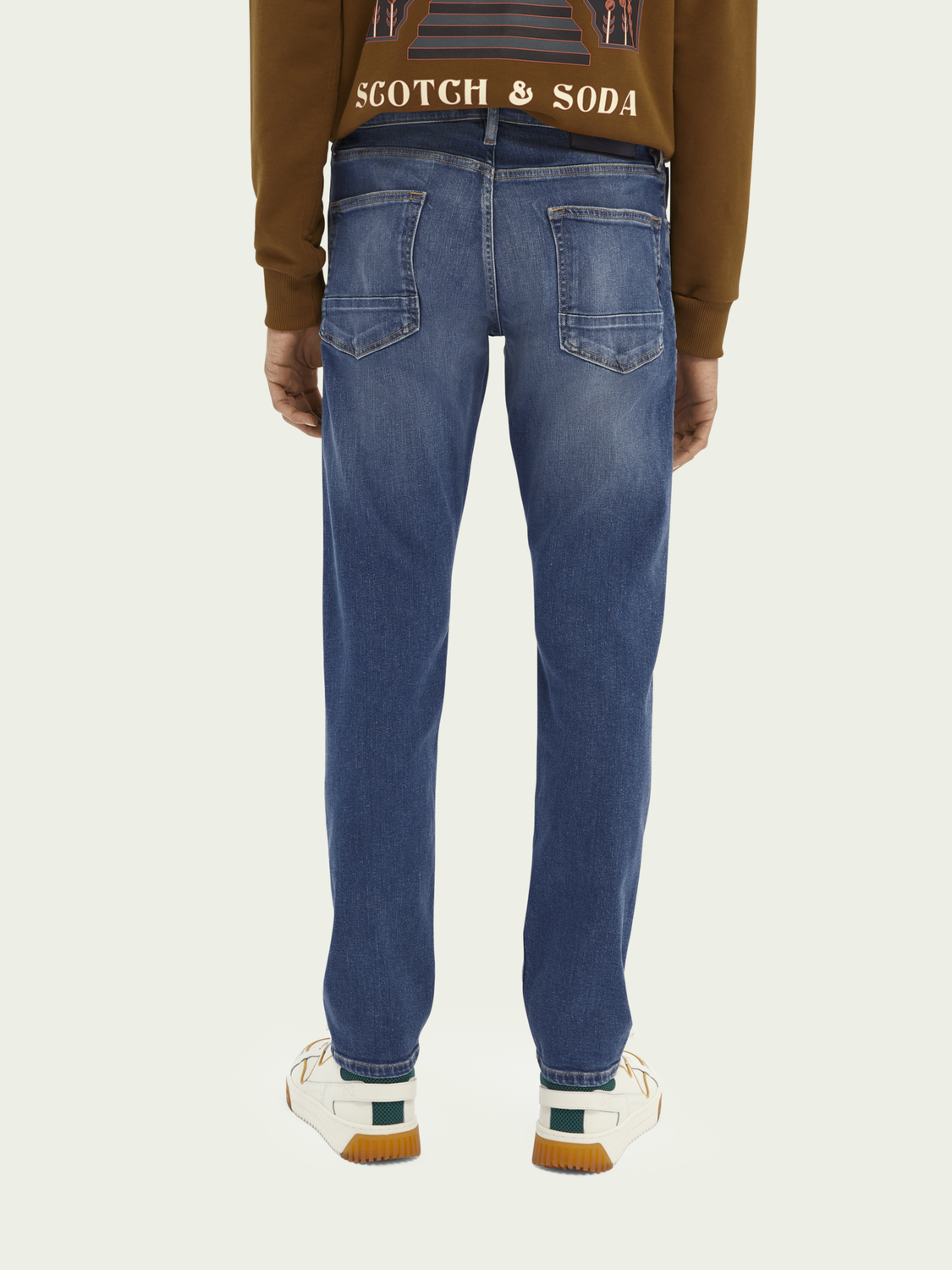 Heren Ralston regular slim fit jeans – Nouveau Blue