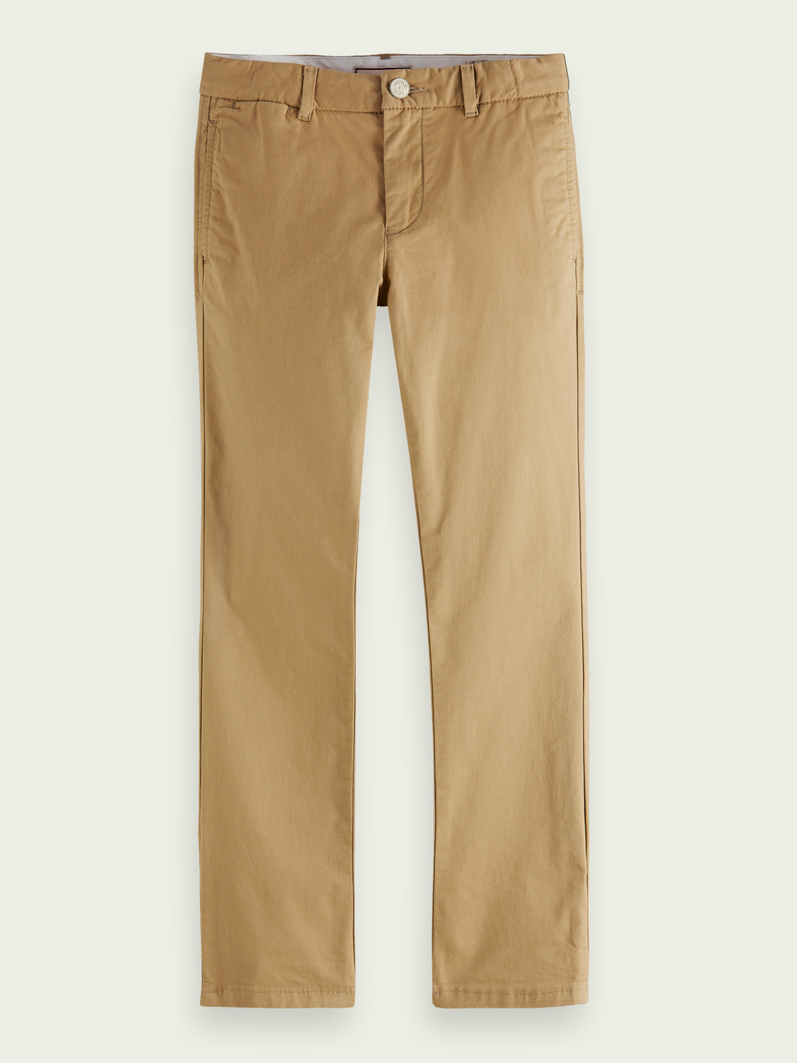 Kids Regular slim-fit organic cotton chino