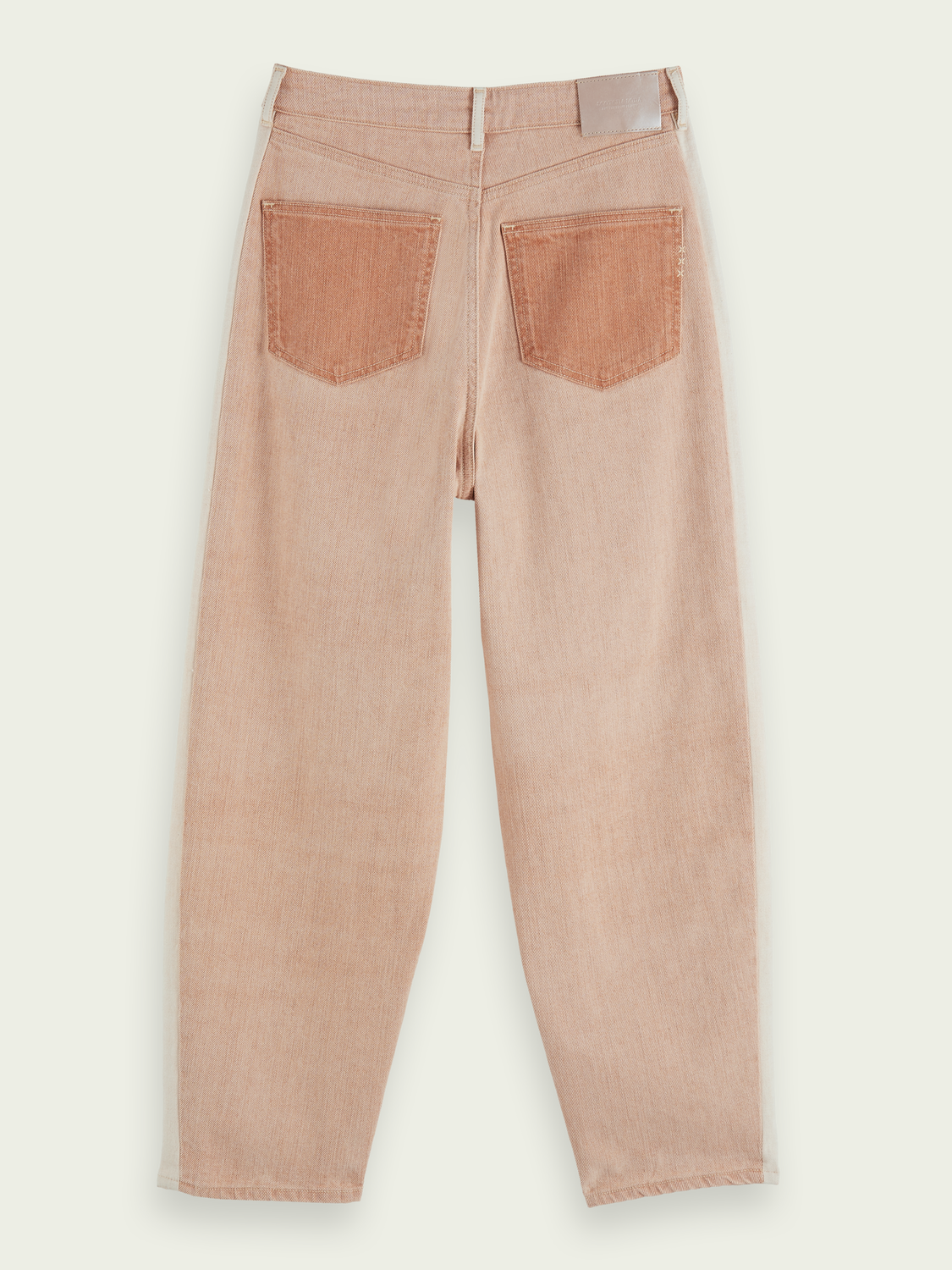 Damen High-Rise Balloon Leg Jeans – Rose Smoke