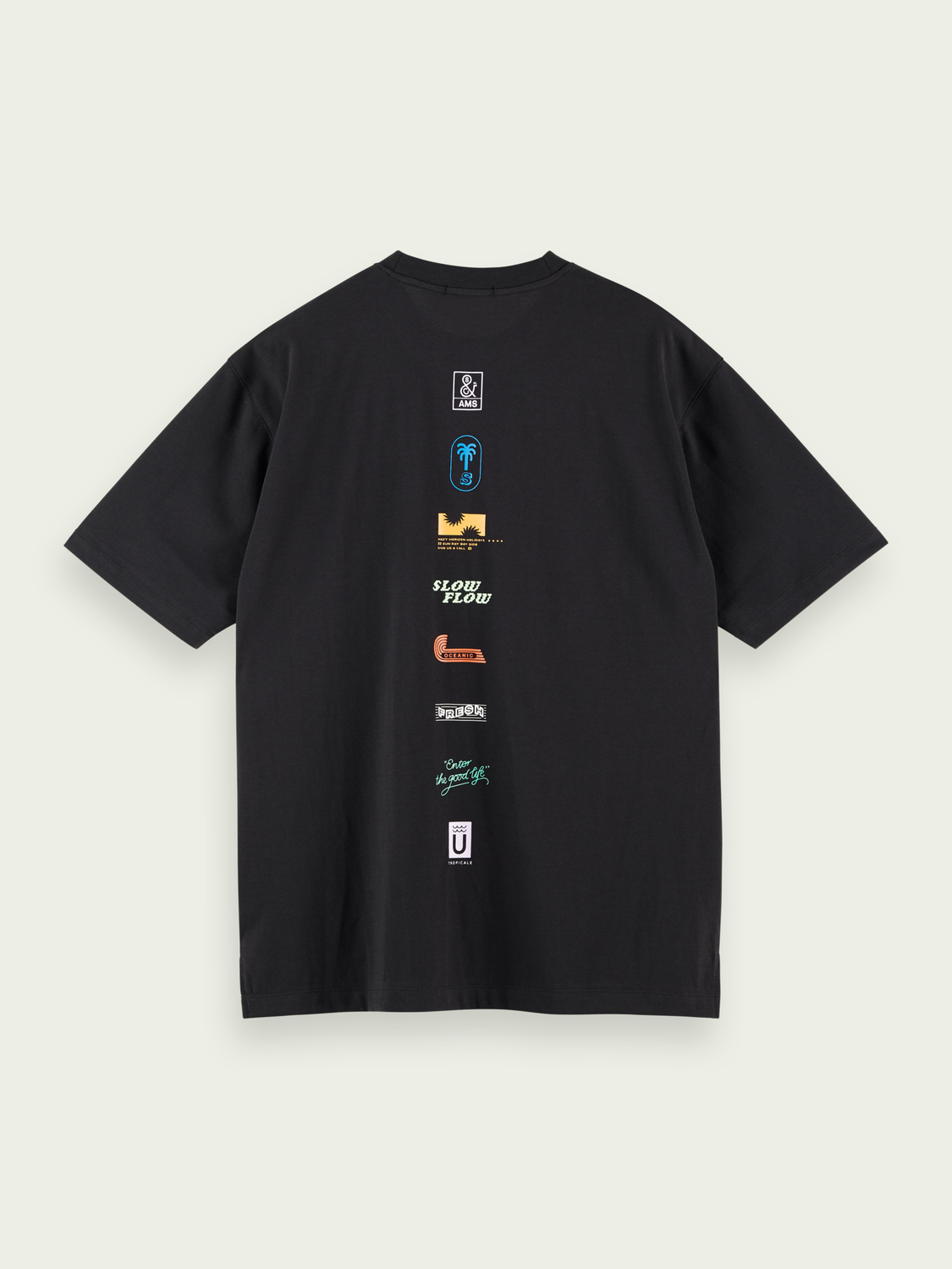 Men Logo graphic T-shirt