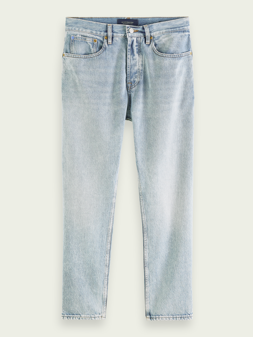 Men's Dean jeans in eco-cotton with loose tapered fit - Another Chance