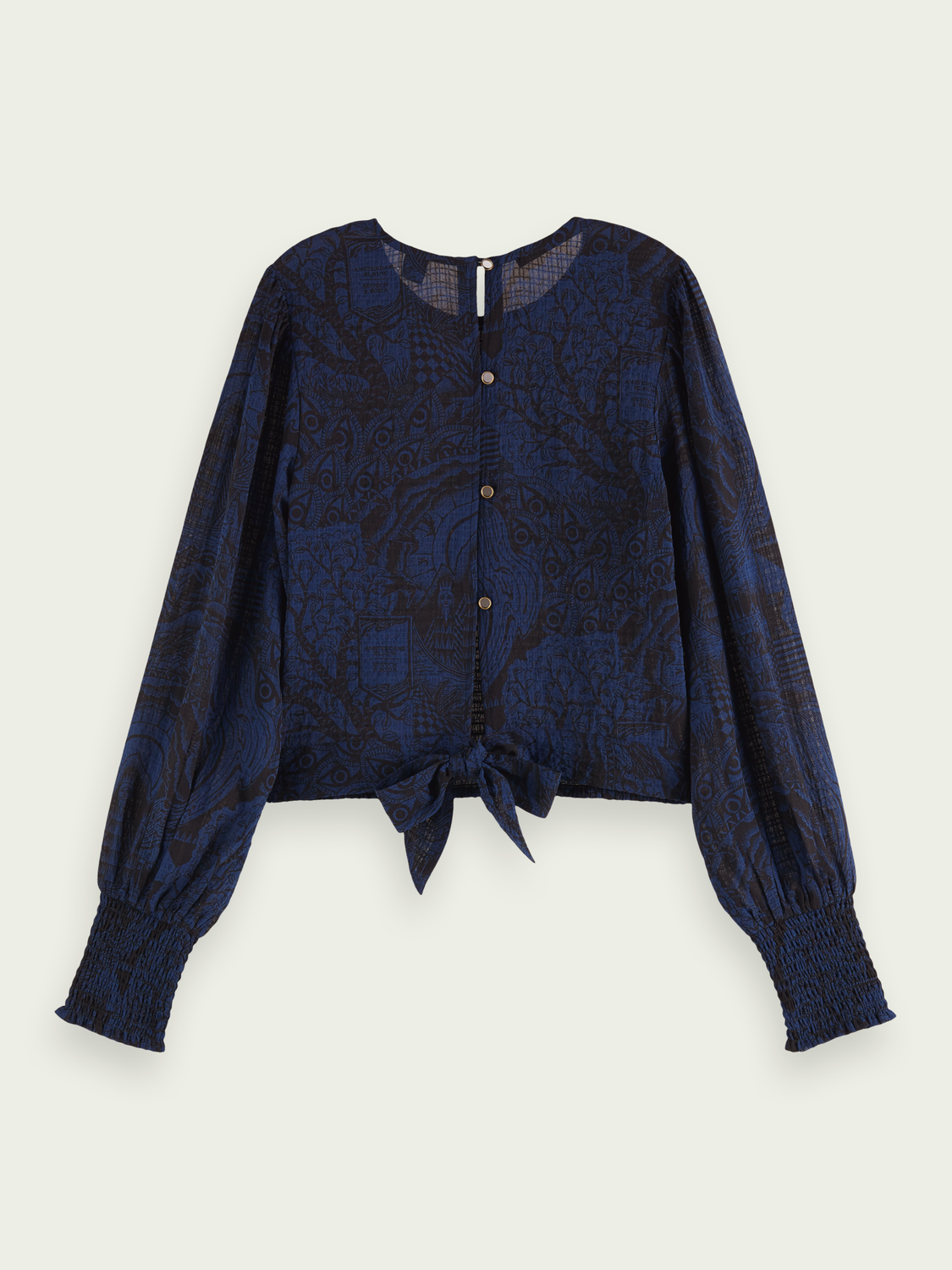 Women Fitted top with smock detail