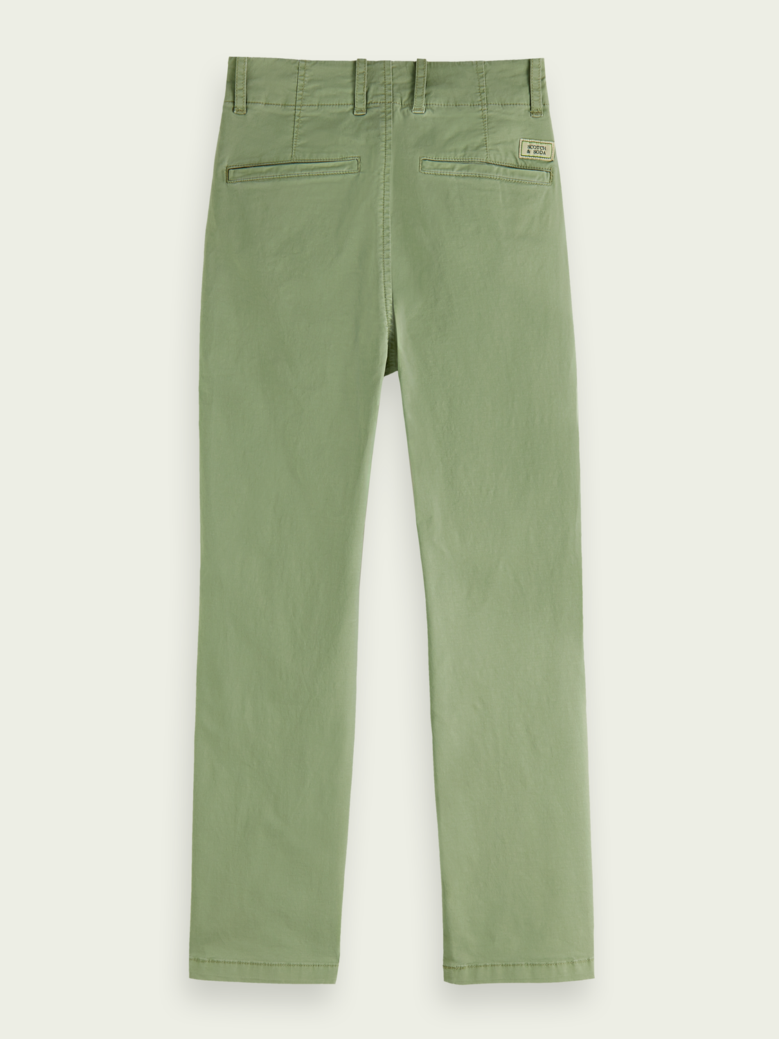 Kinder Chino im Loose Tapered Fit aus Baumwolle – Sea Foam