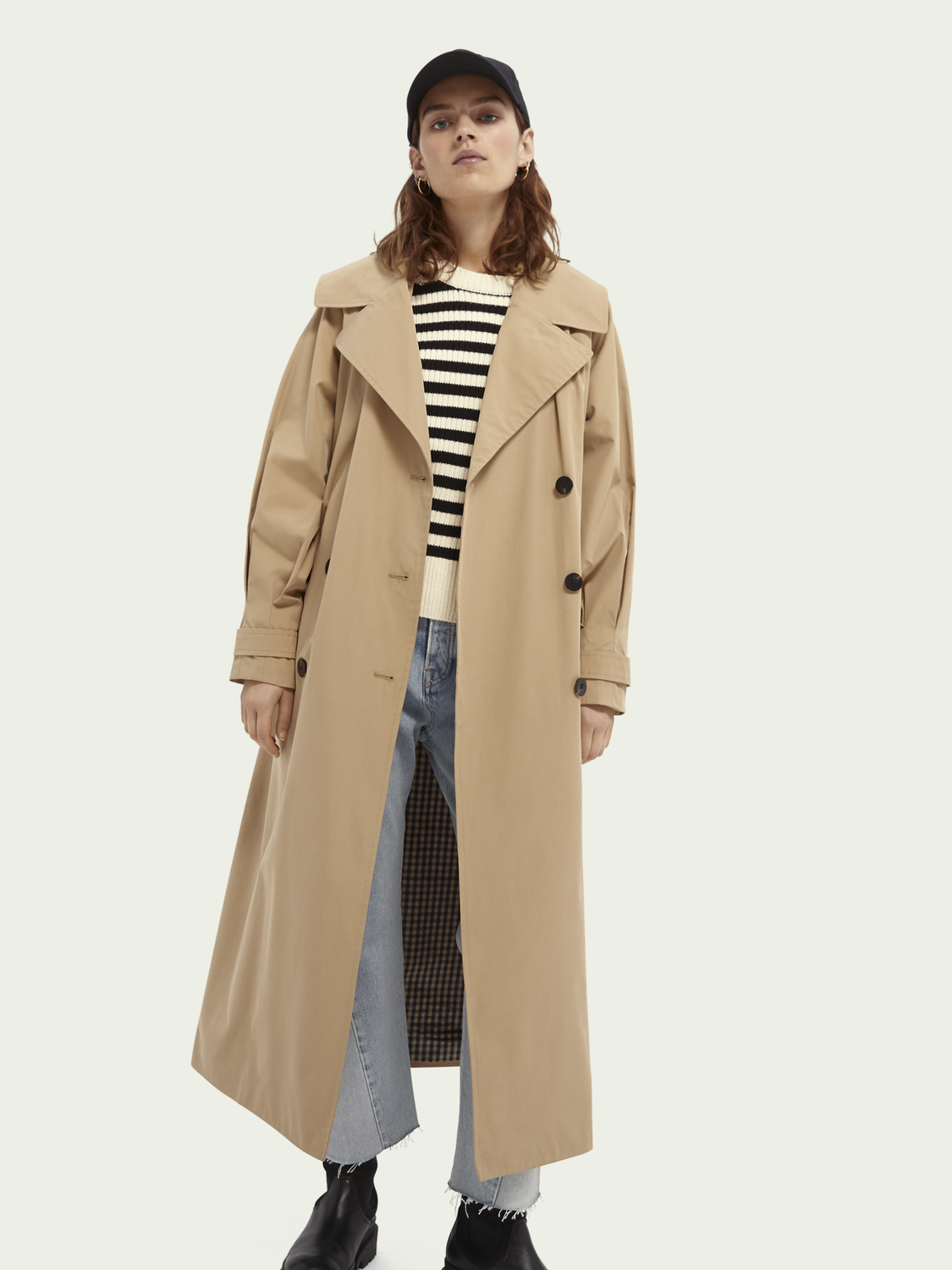 Dames Oversized trenchcoat