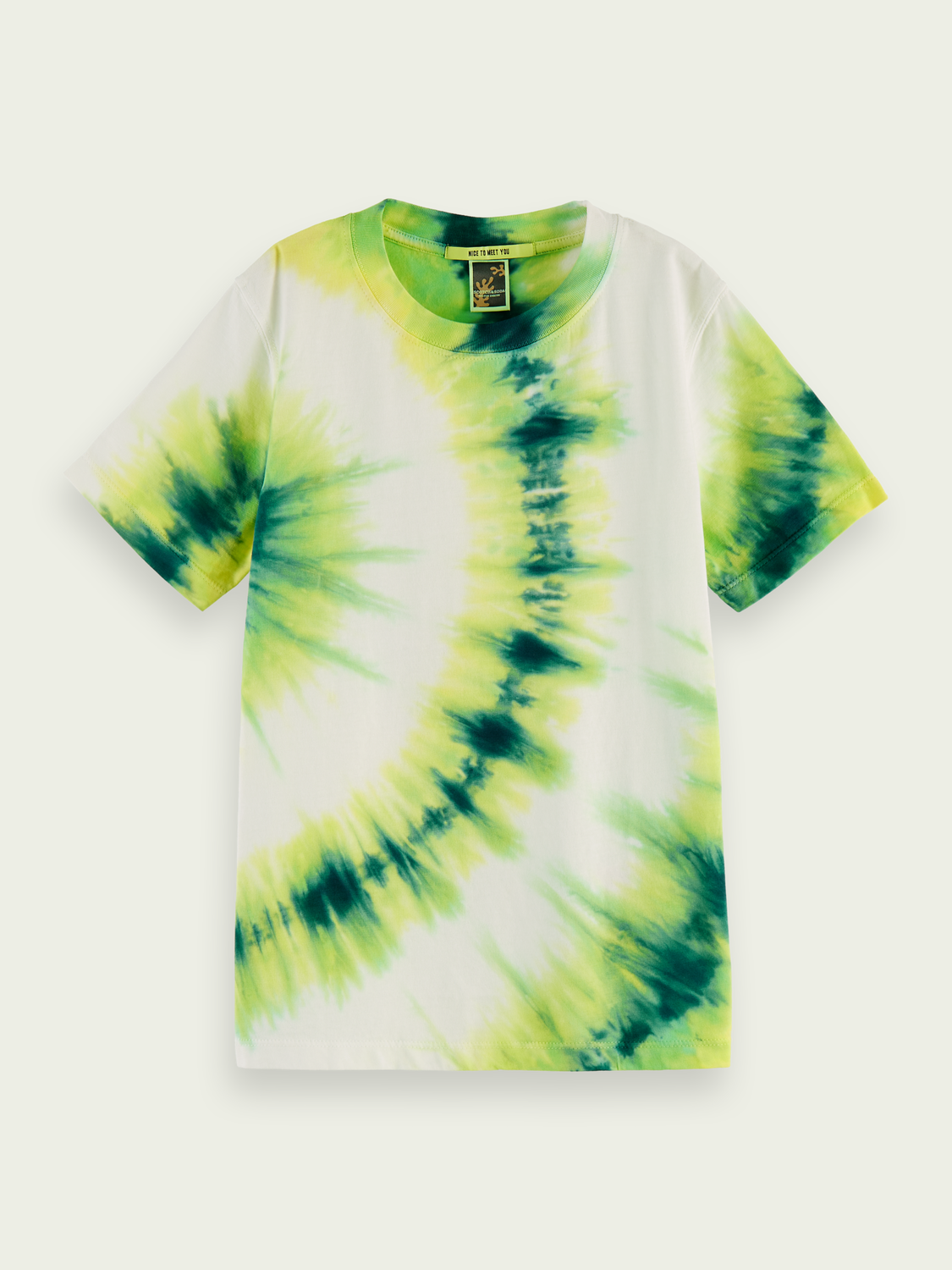 Kids Tie-dye organic cotton T-shirt