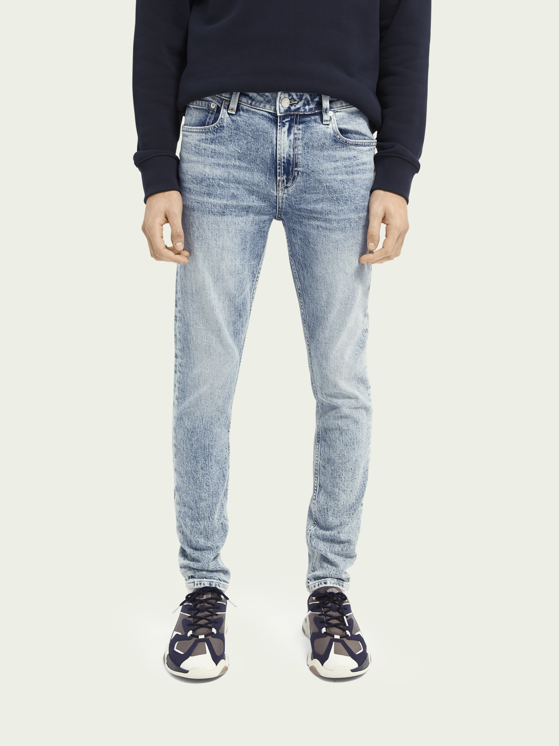 Heren Skim super slim fit jeans – Timeworn