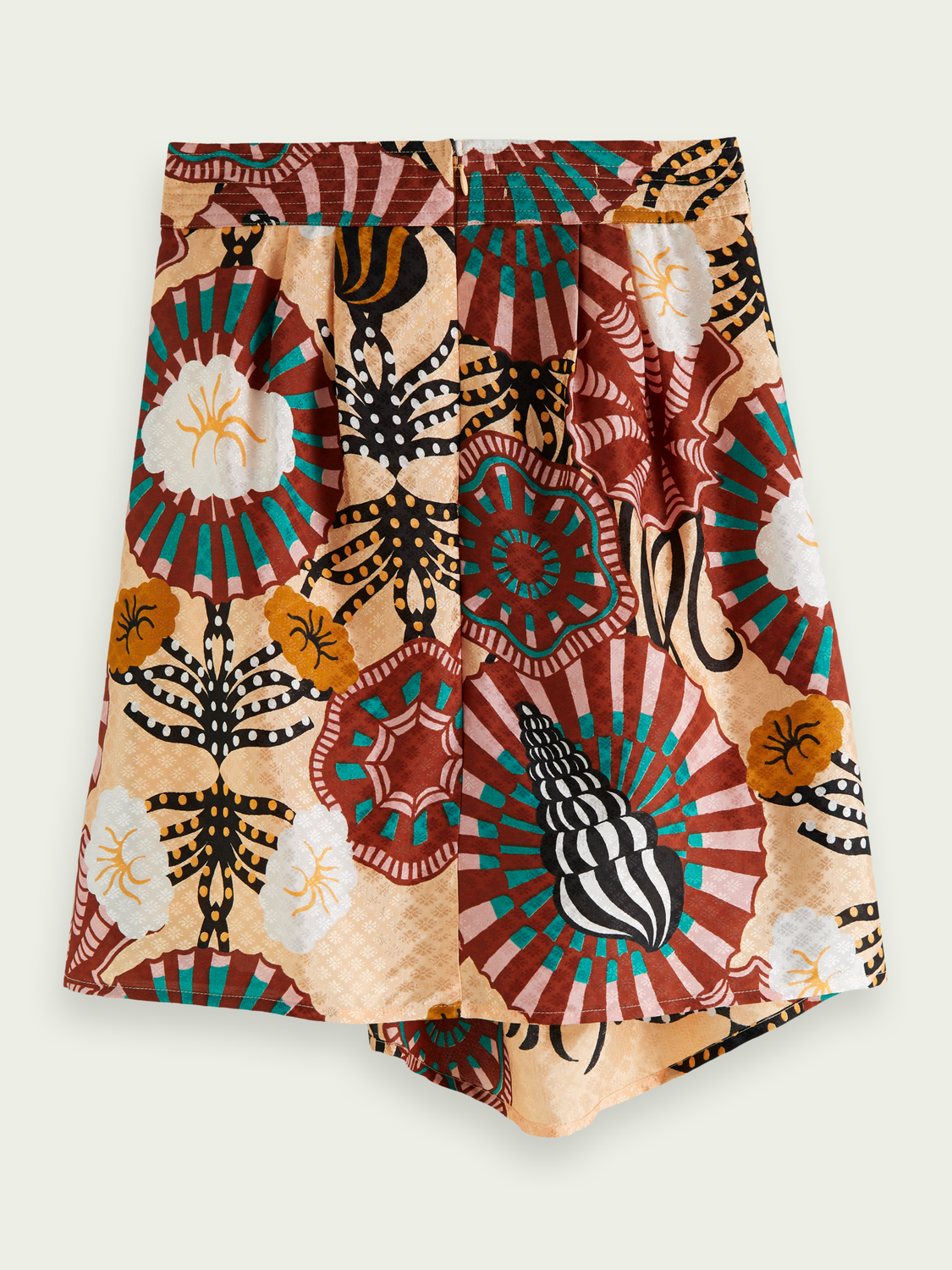 Women Printed jacquard skirt