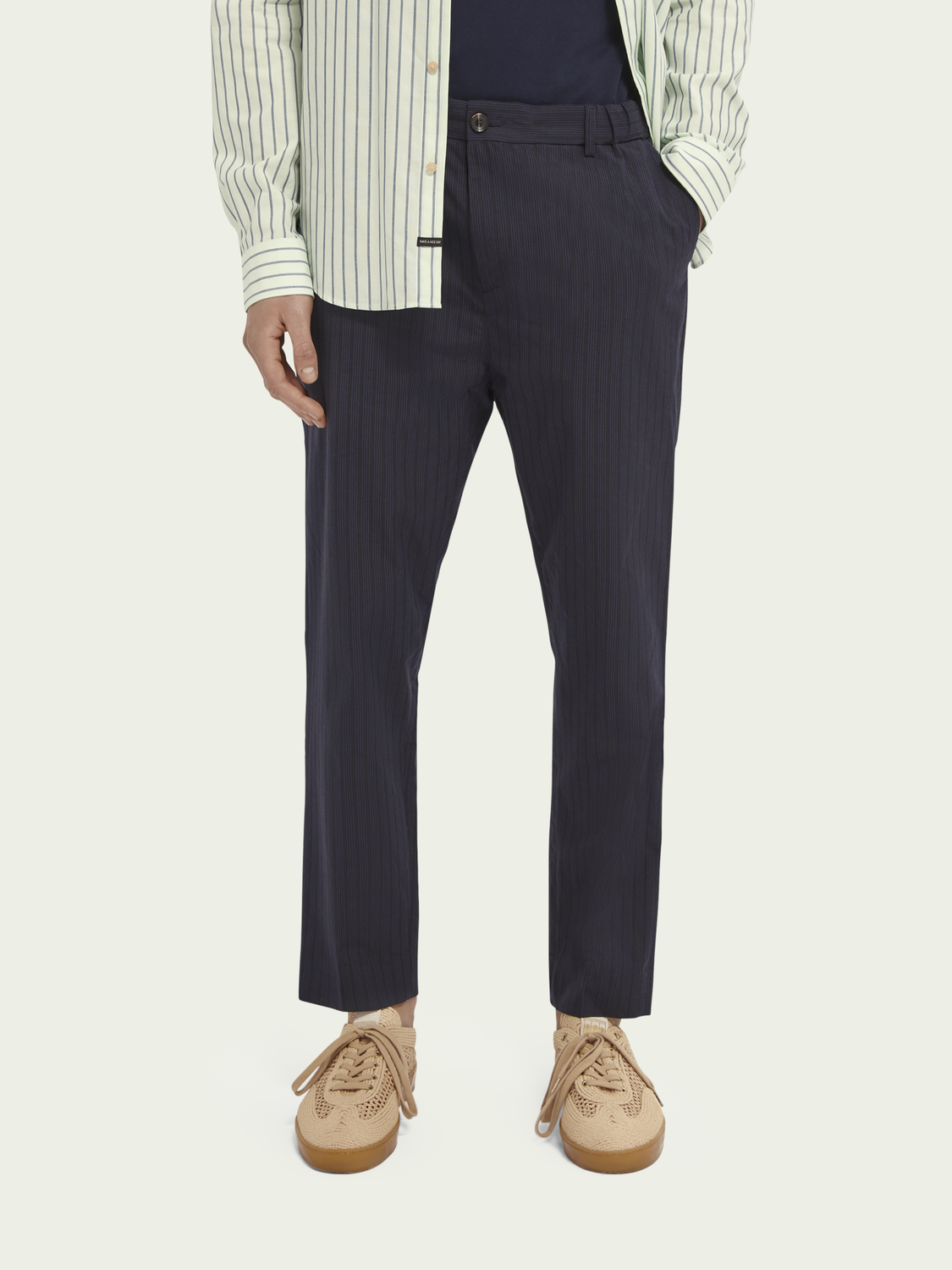 Men FAVE mid-rise cotton chino