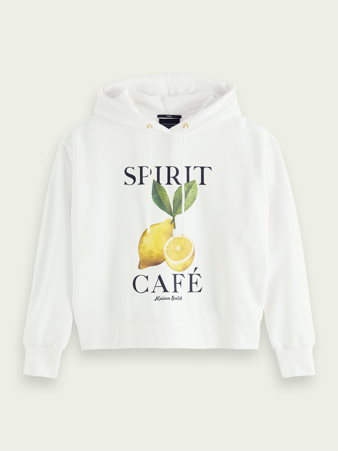 Women Recycled artwork loose fit hoodie