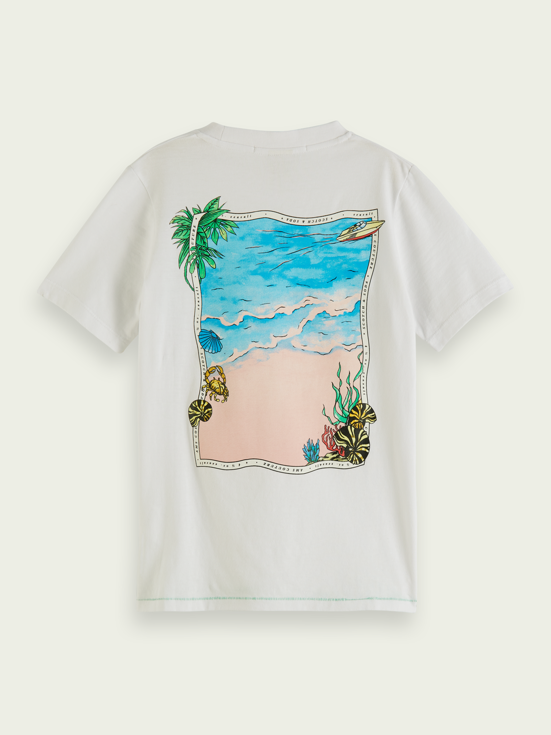 Kids Tropical graphic T-shirt