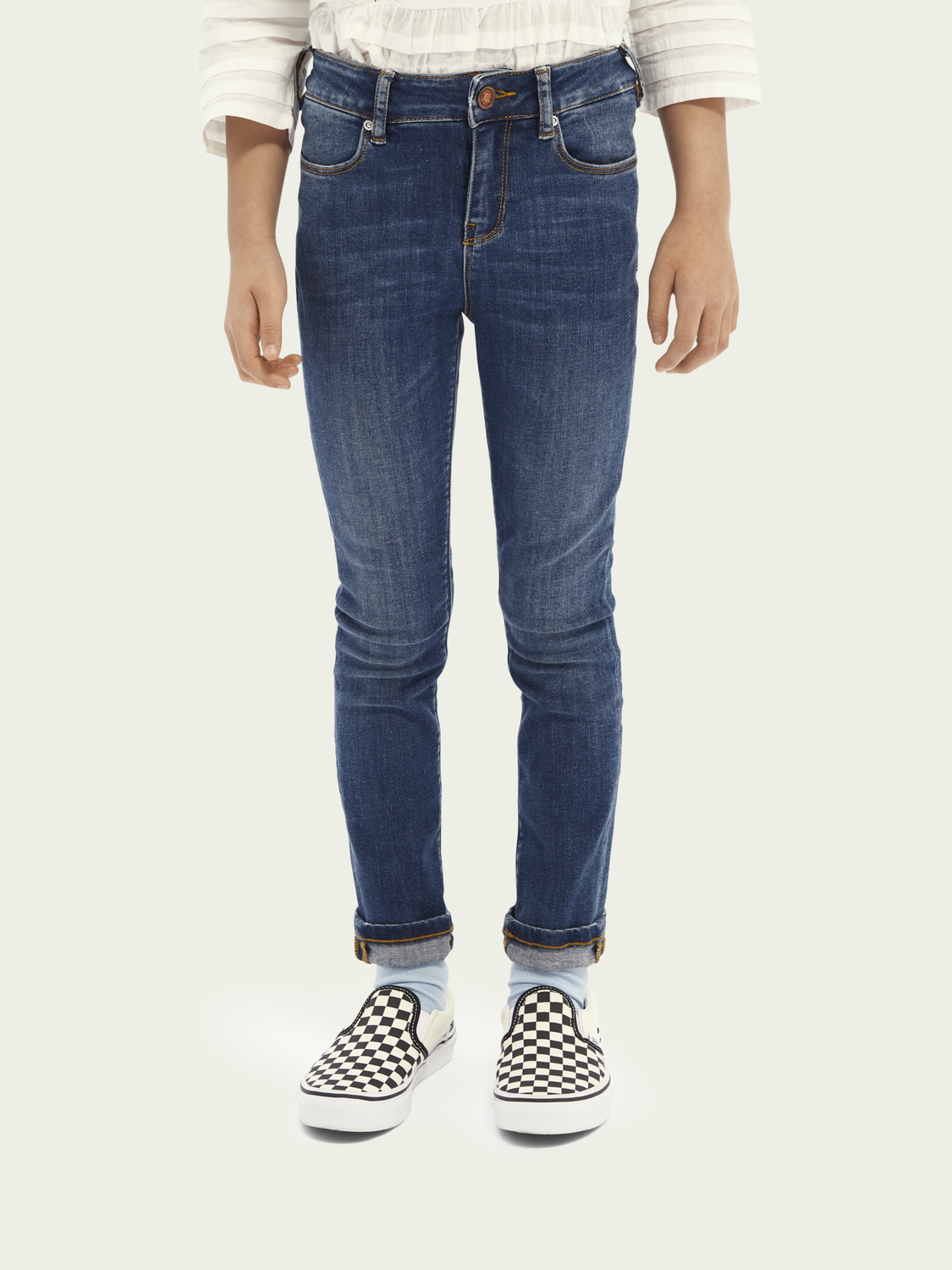 Kinder La Charmante High-Rise Skinny Fit Jeans – Get Ready