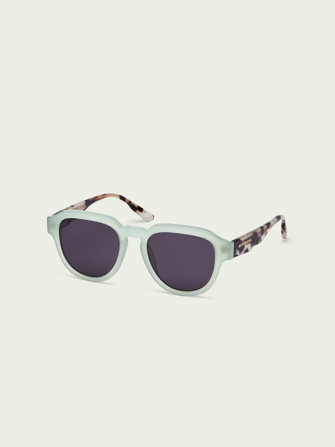 Men Tahoe - oversized contrast frame sunglasses