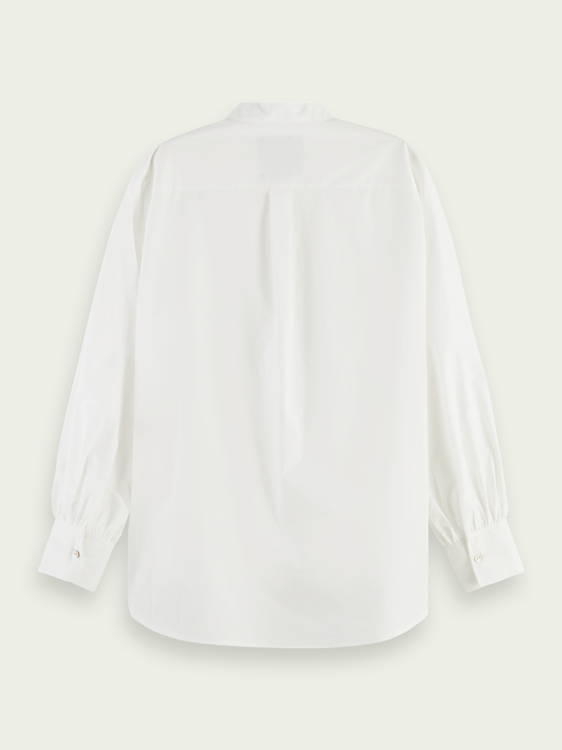 Women Oversized organic cotton shirt