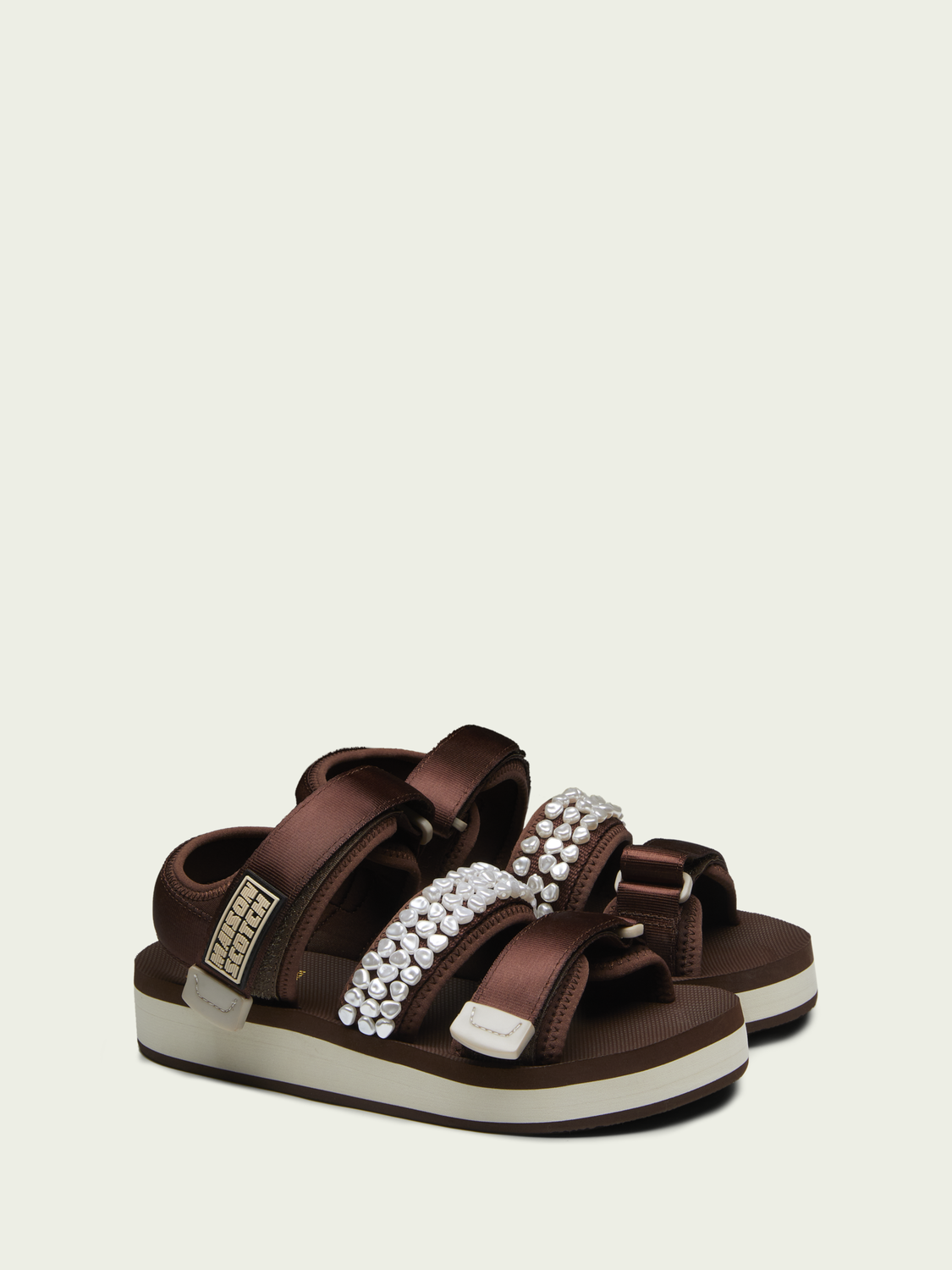 Women Lydia brown sandals