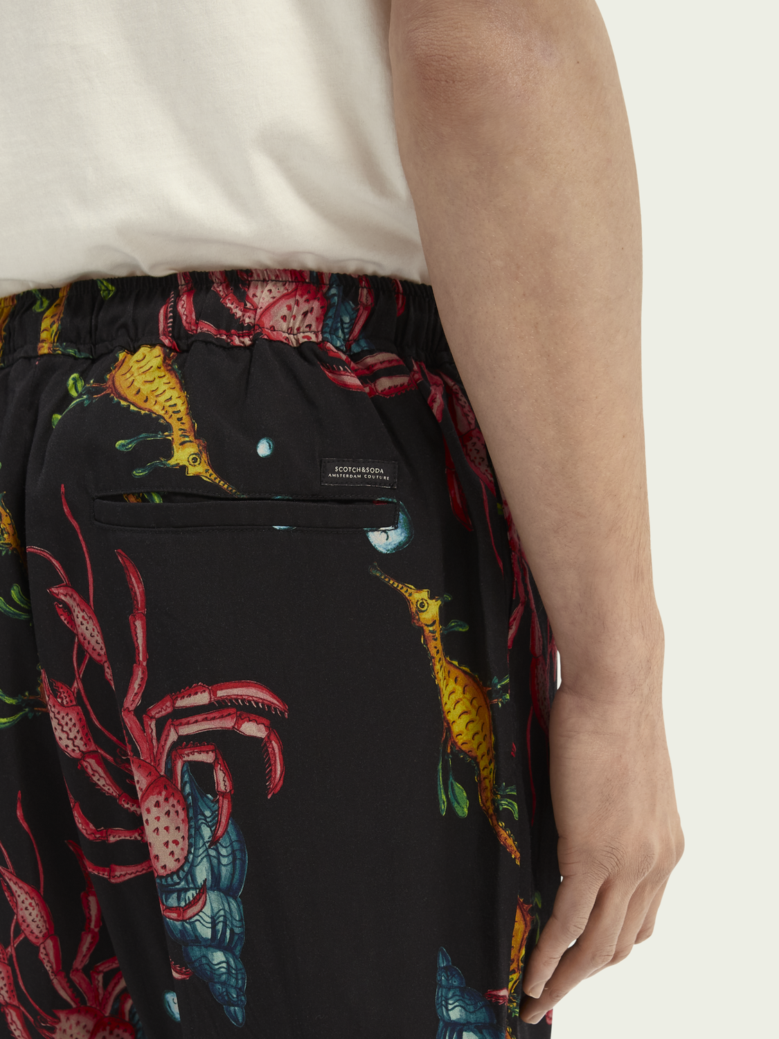 Men Fave TENCEL™ Relaxed printed chino