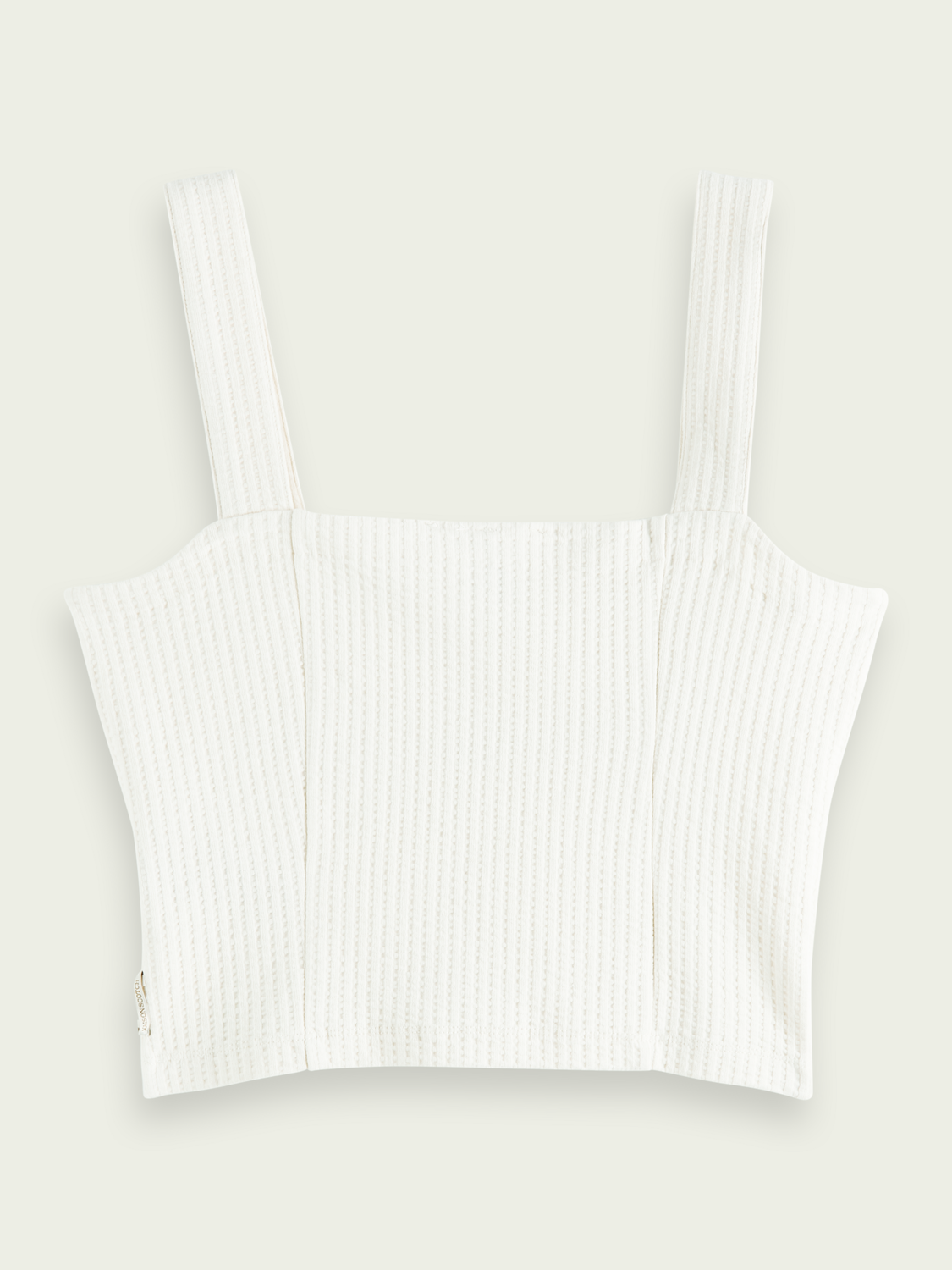 Women Cropped ribbed top