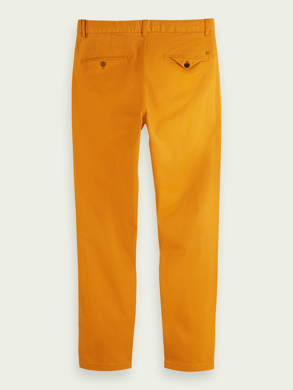Men Stuart regular slim-fit twill chino