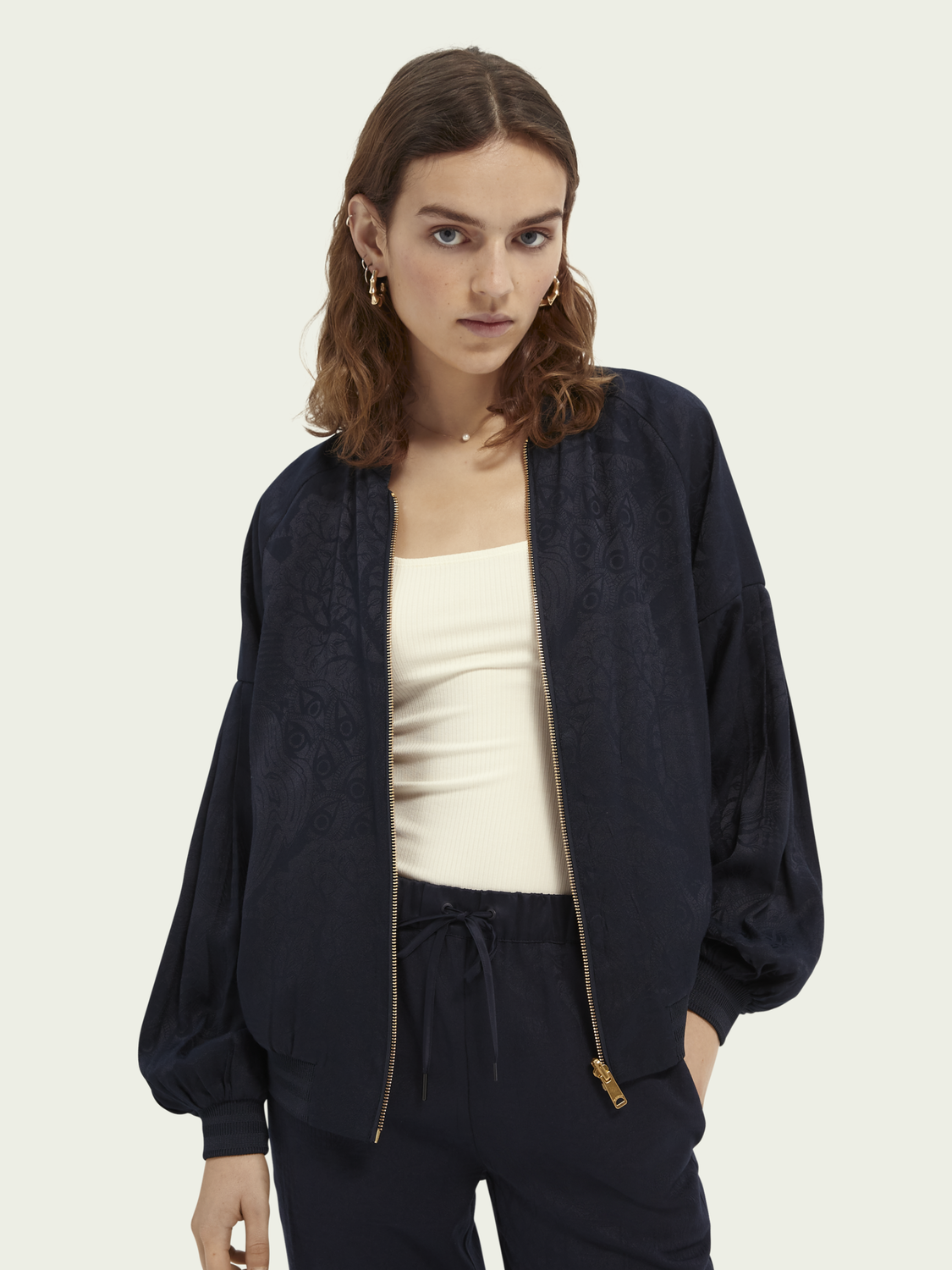 Women Reversible lightweight jacket