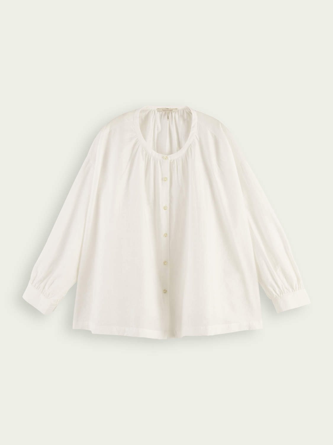 Women TENCEL™ & ECOVERO™ blend button down shirt