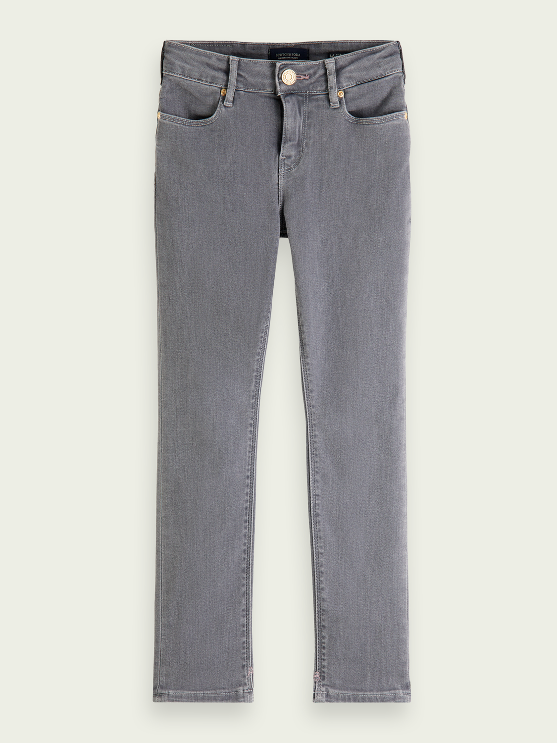 Kids La Charmante high-rise skinny-fit jeans ─ Back To My Roots