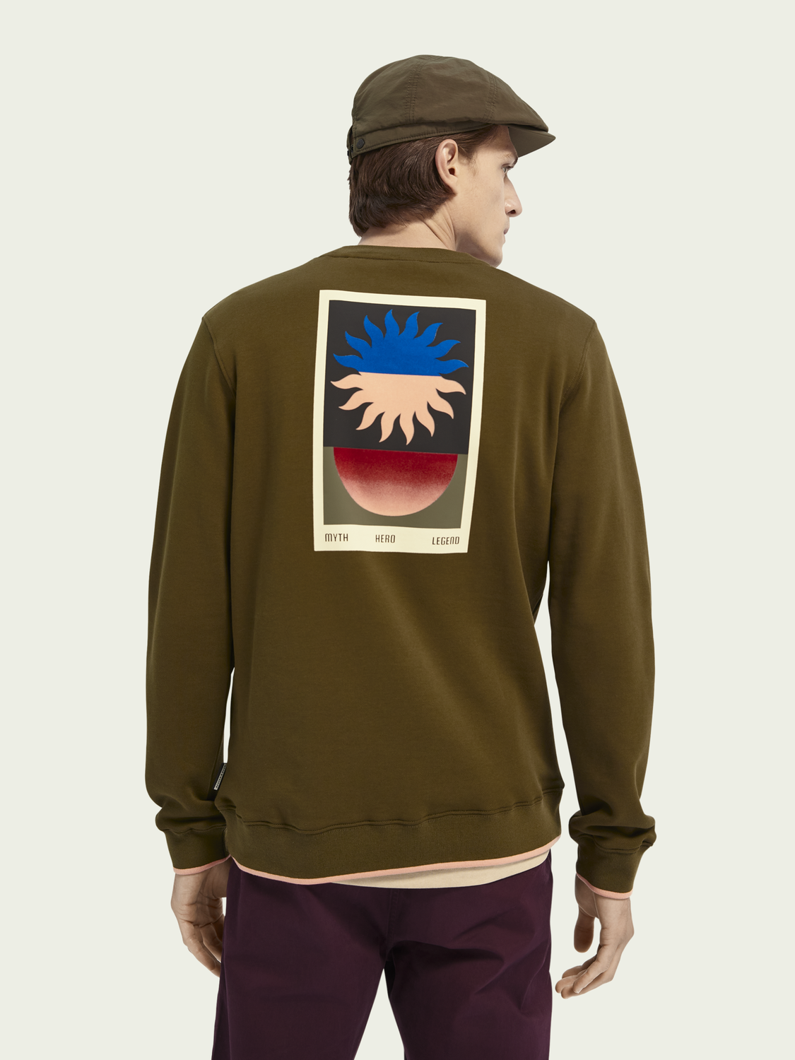 Men Tapestry artwork sweater