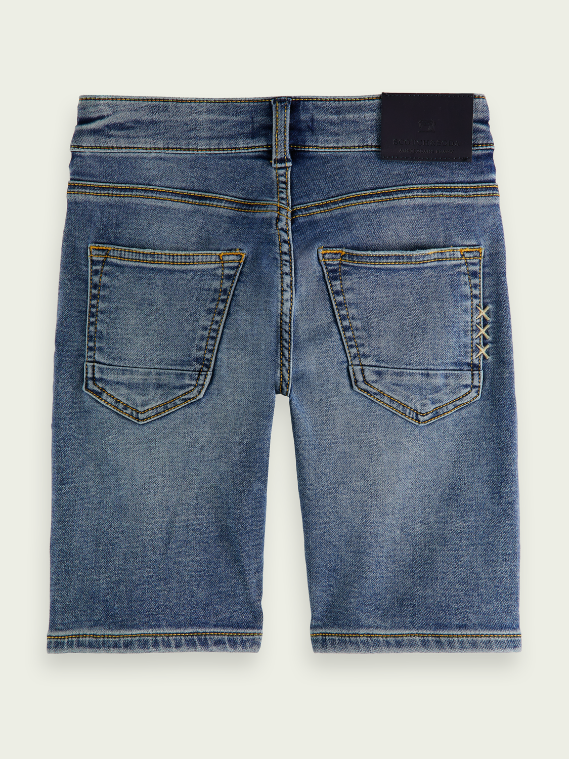 Kinderen Strummer Short - Weathered Blue Light