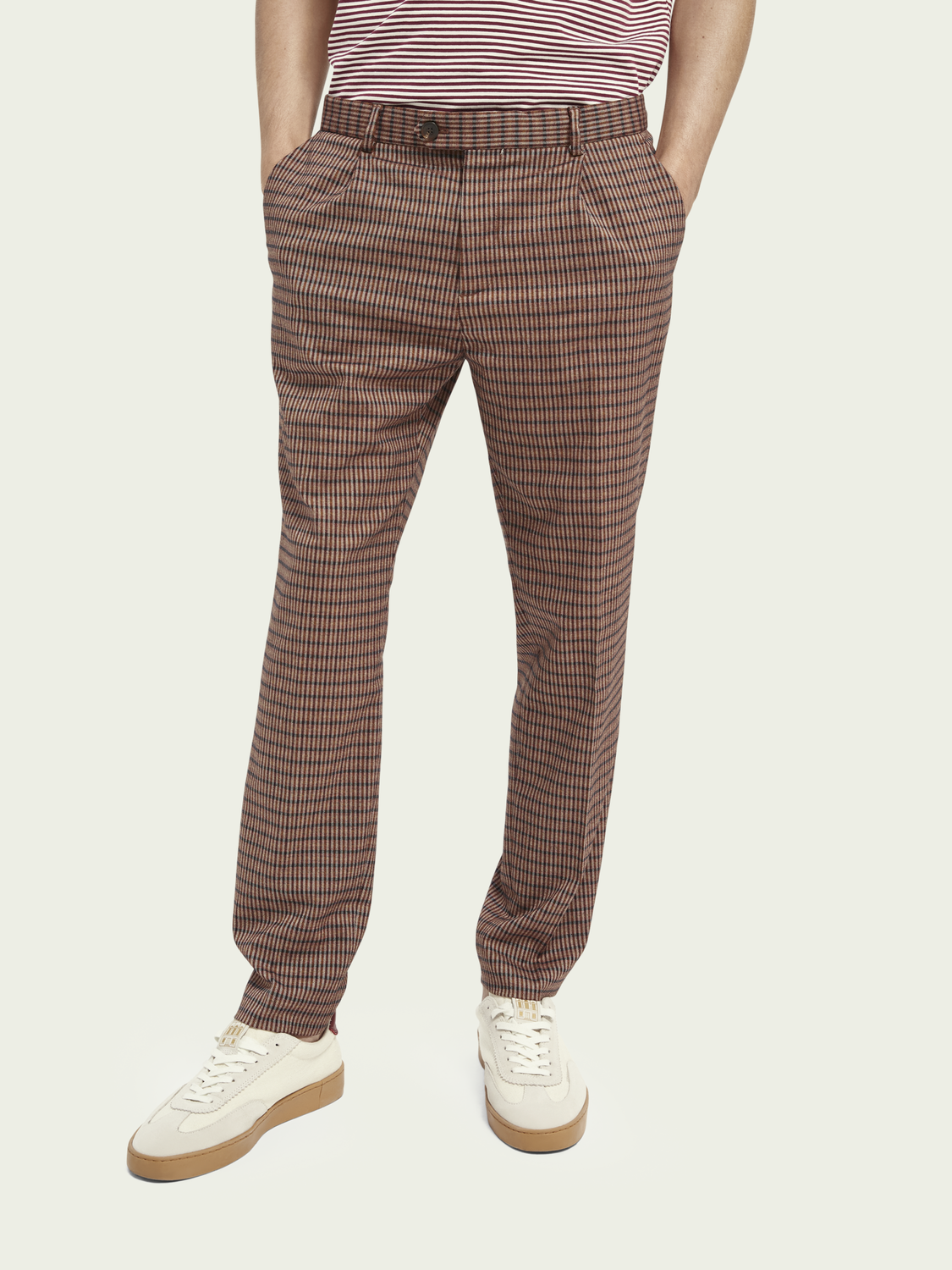 Men Blake classic yarn-dyed chino