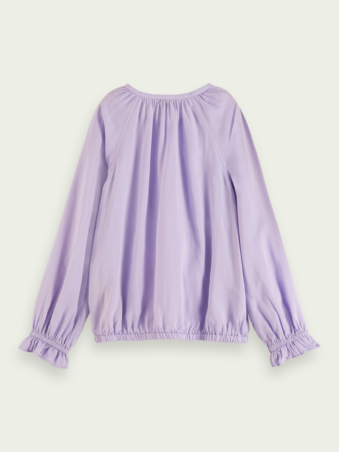 Kids Wide fit long sleeve T-shirt - Lavender