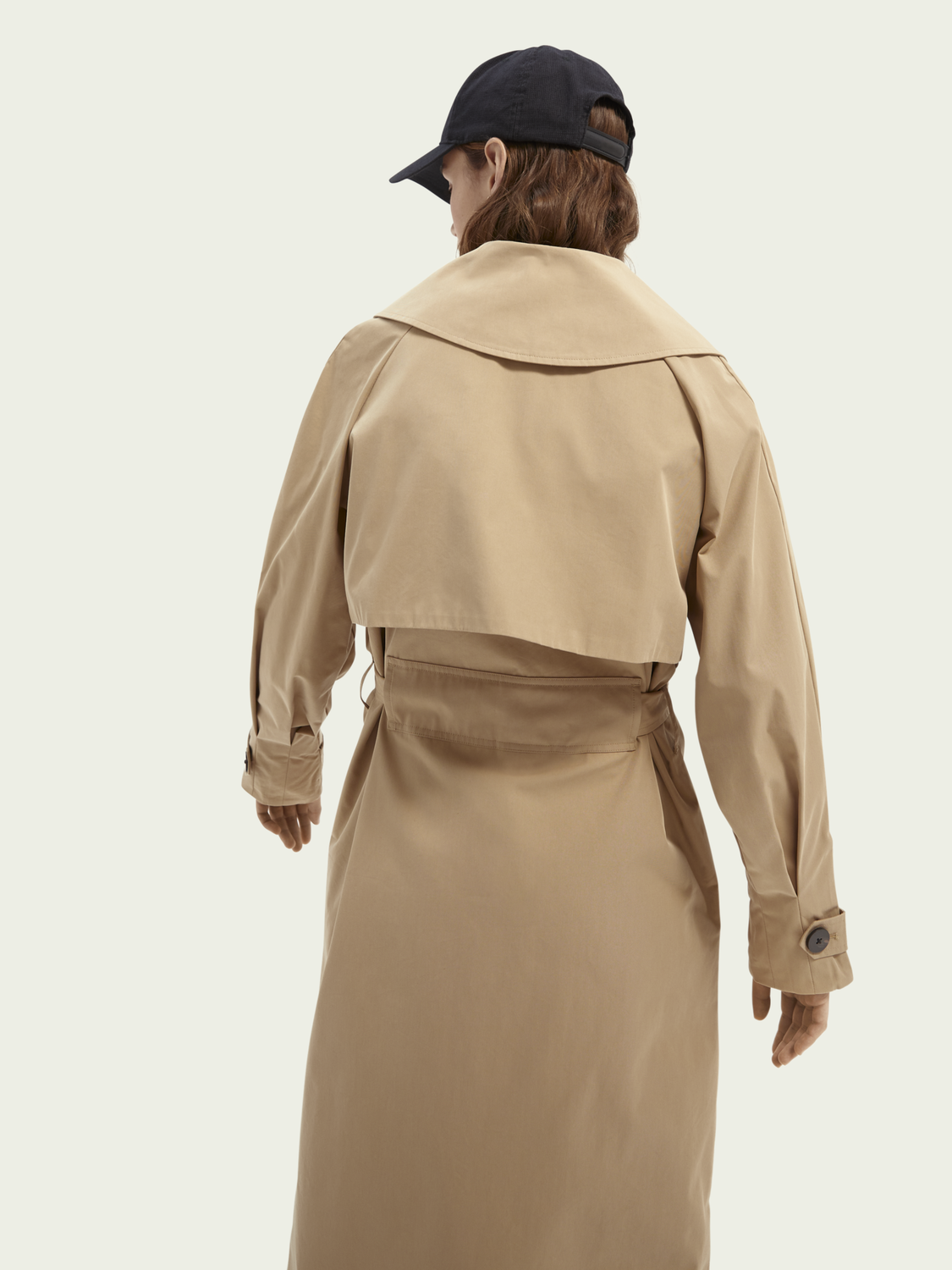 Women Oversized trench coat